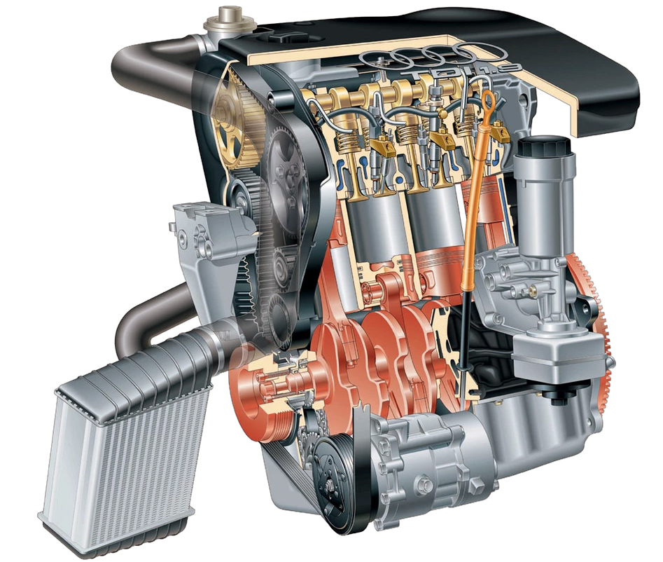 Silnik VW 1.9 TDI