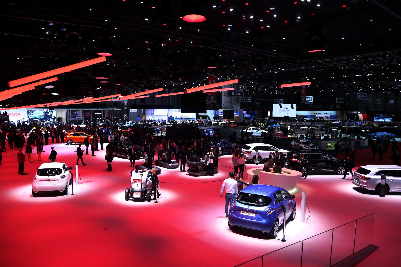 Salon samochodowy wGenewie 2019