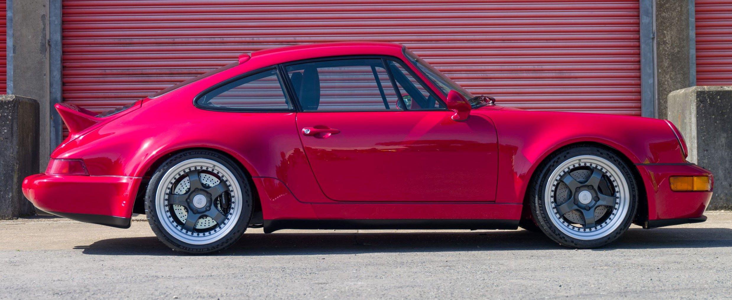 Porsche 911 Everrati bok