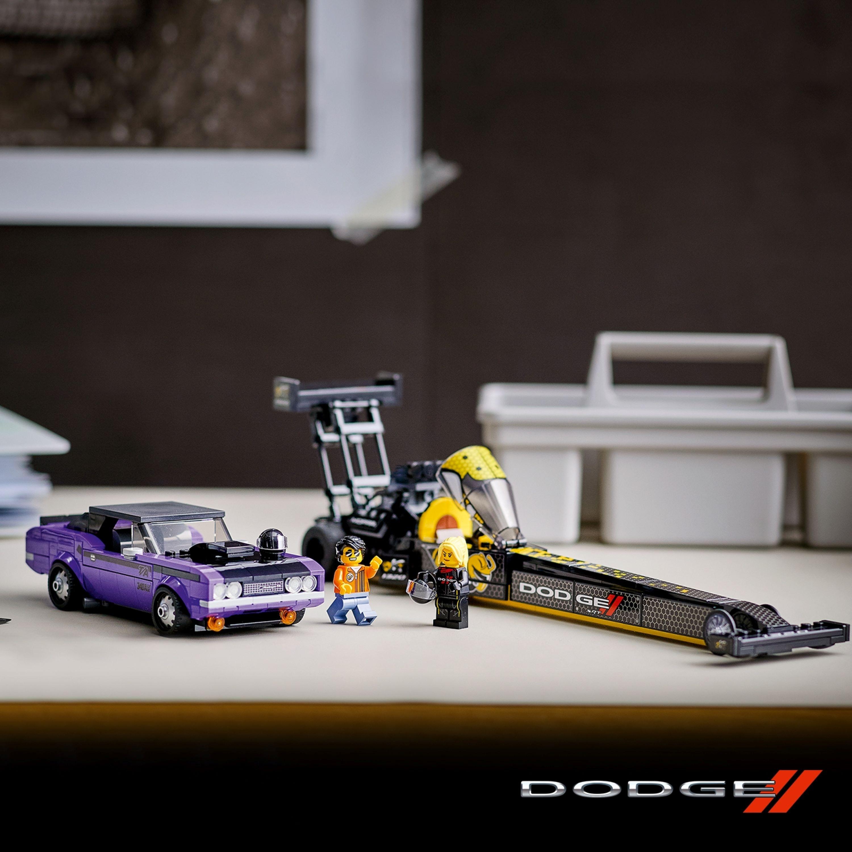 Dodge//SRT Top Fuel iDodge Challenger T/A zLego