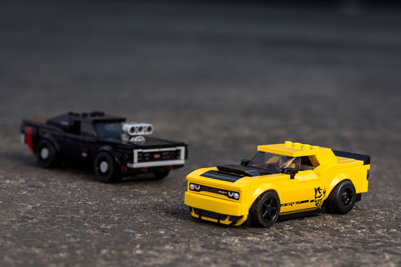 Dodge Challenger SRT Demon iDodge Charger R/T zLego