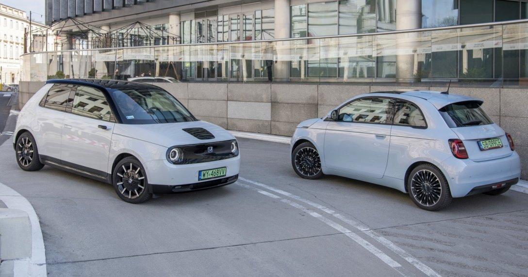 Honda e, Fiat 500e