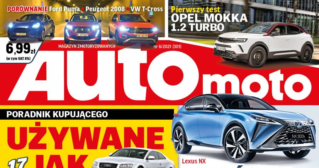 """""""Auto Moto"""" 6/2021 – zapowiedź numeru"""