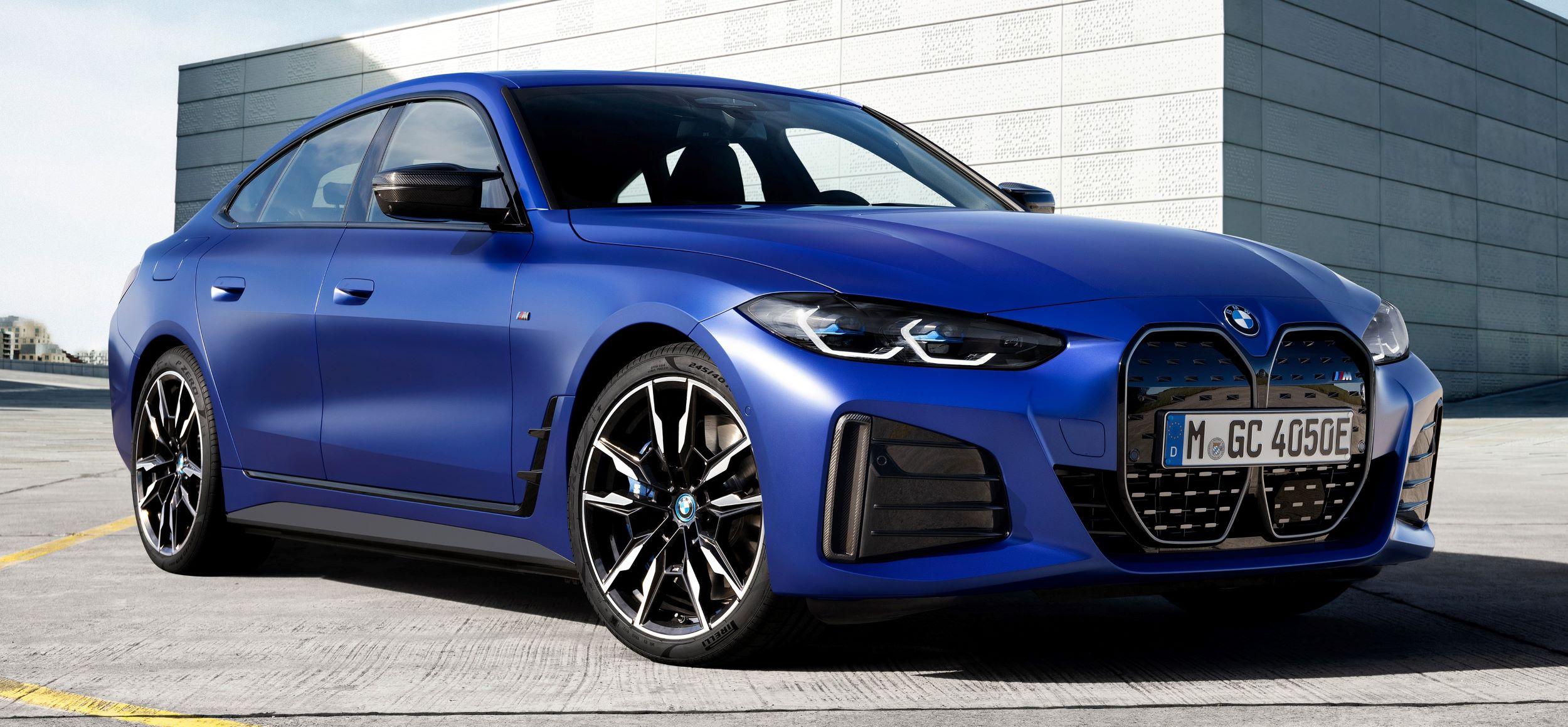 BMW i4 przód