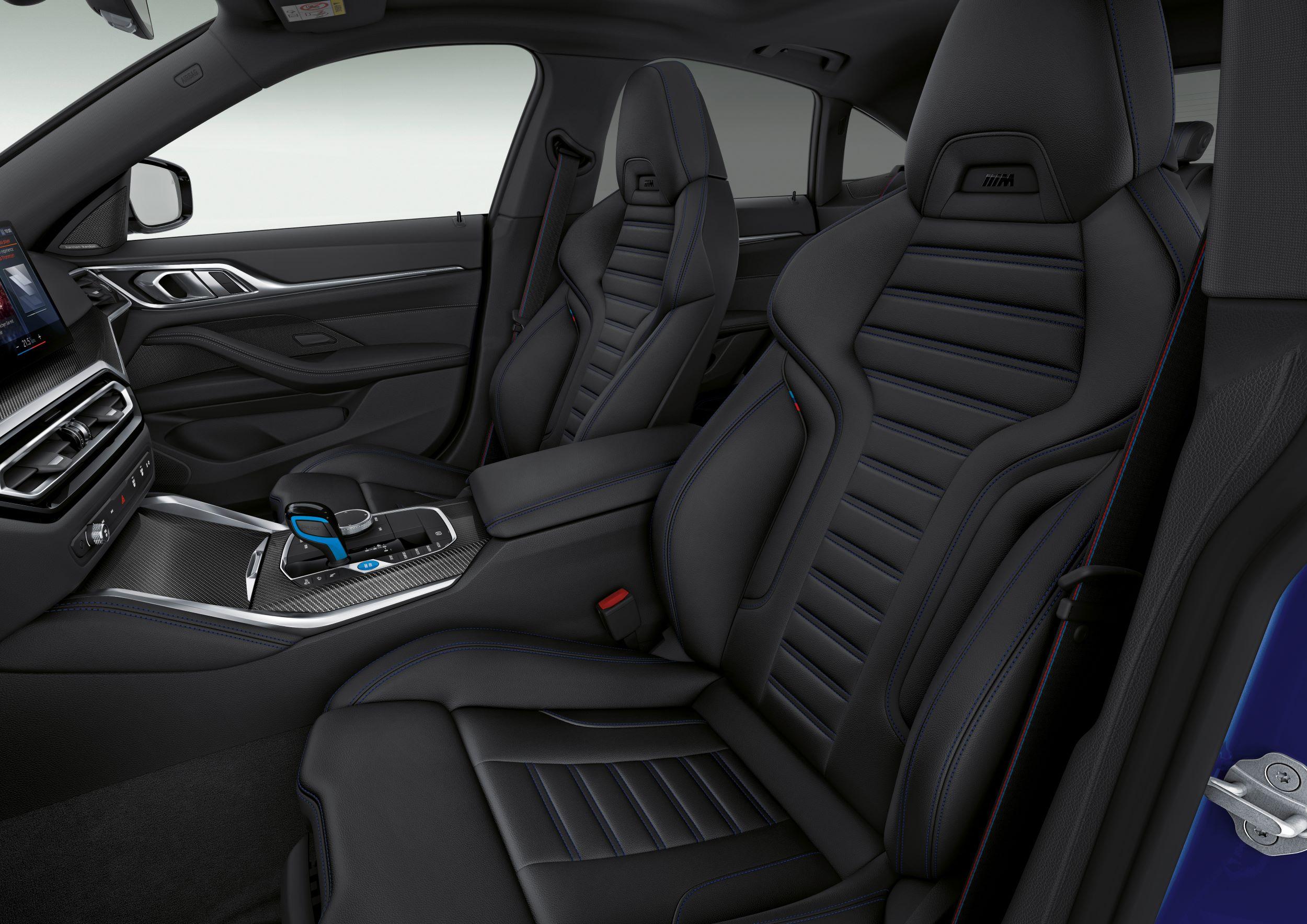 BMW i4 fotele