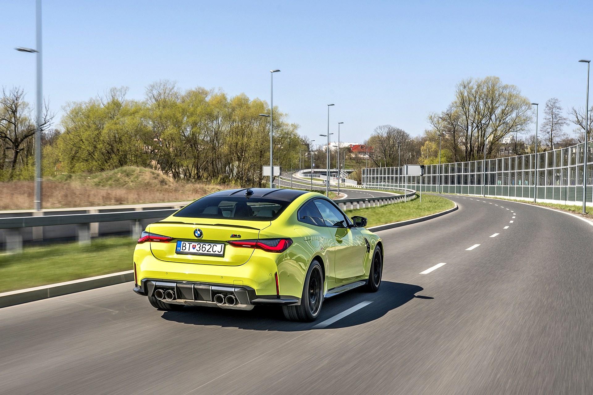 2021 BMW M4 Competition - tył