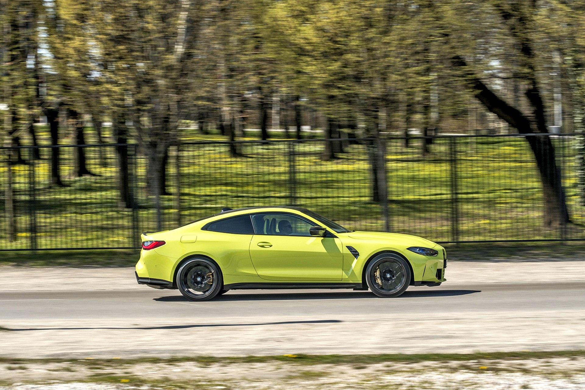 BMW M4 Competition - nadwozie
