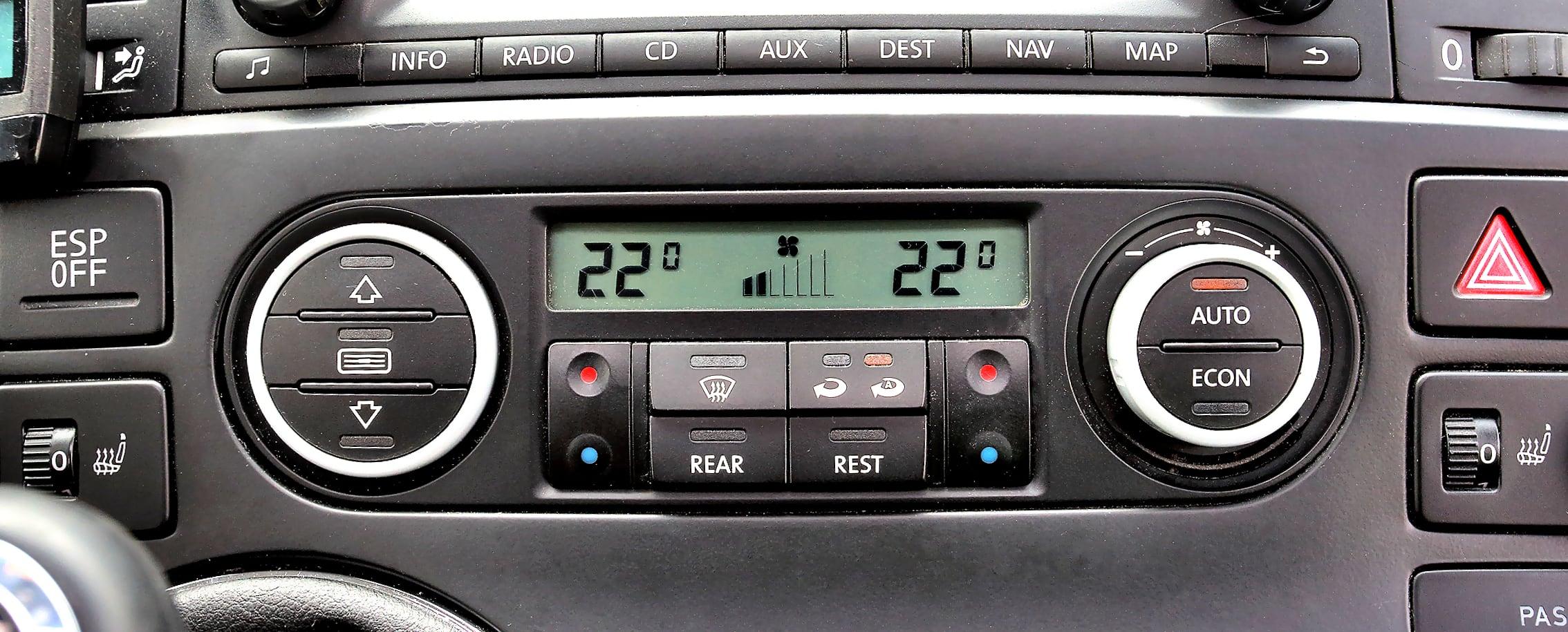 Volkswagen Multivan T5 klimatyzacja
