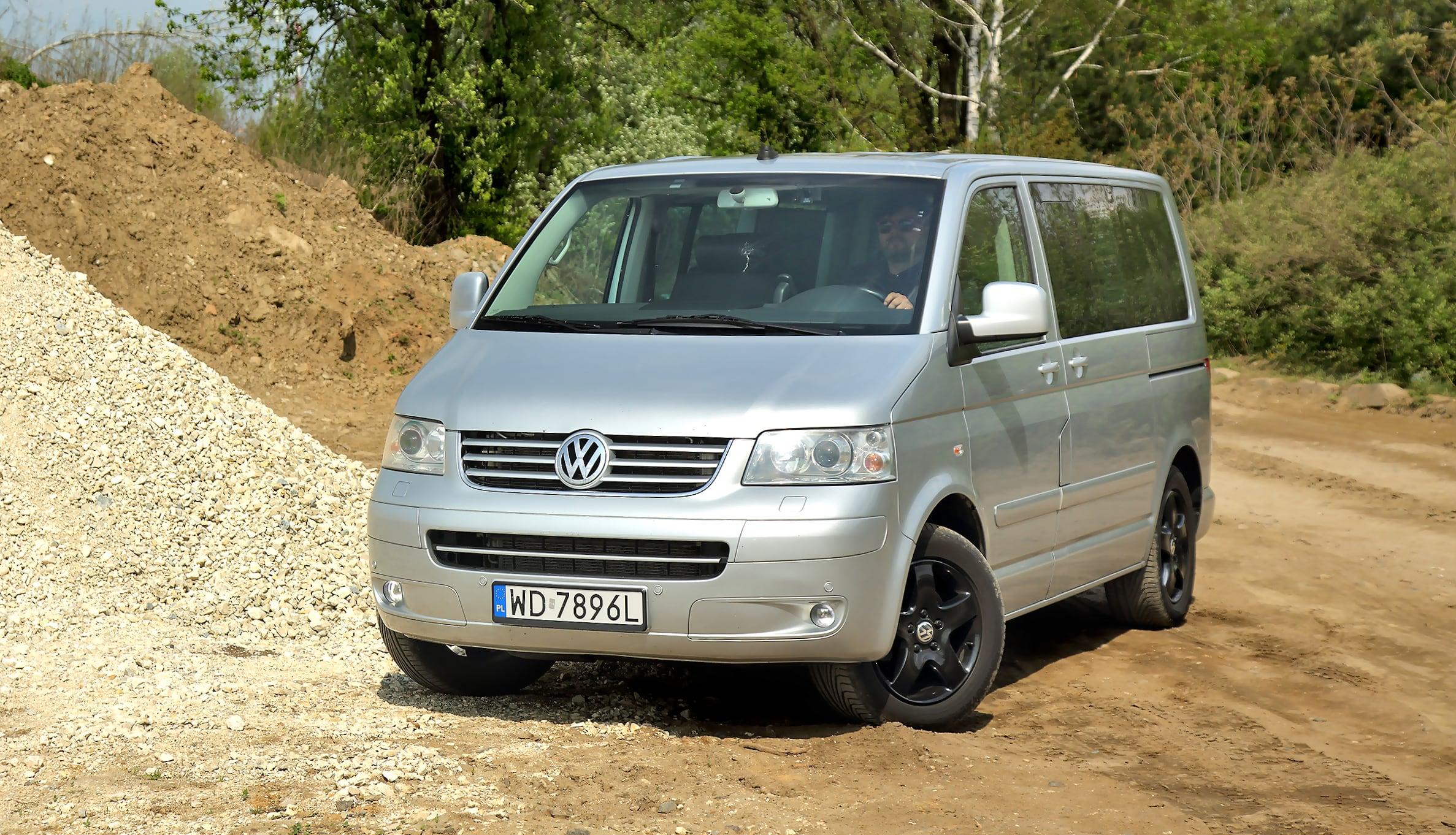Volkswagen Multivan T5 przód