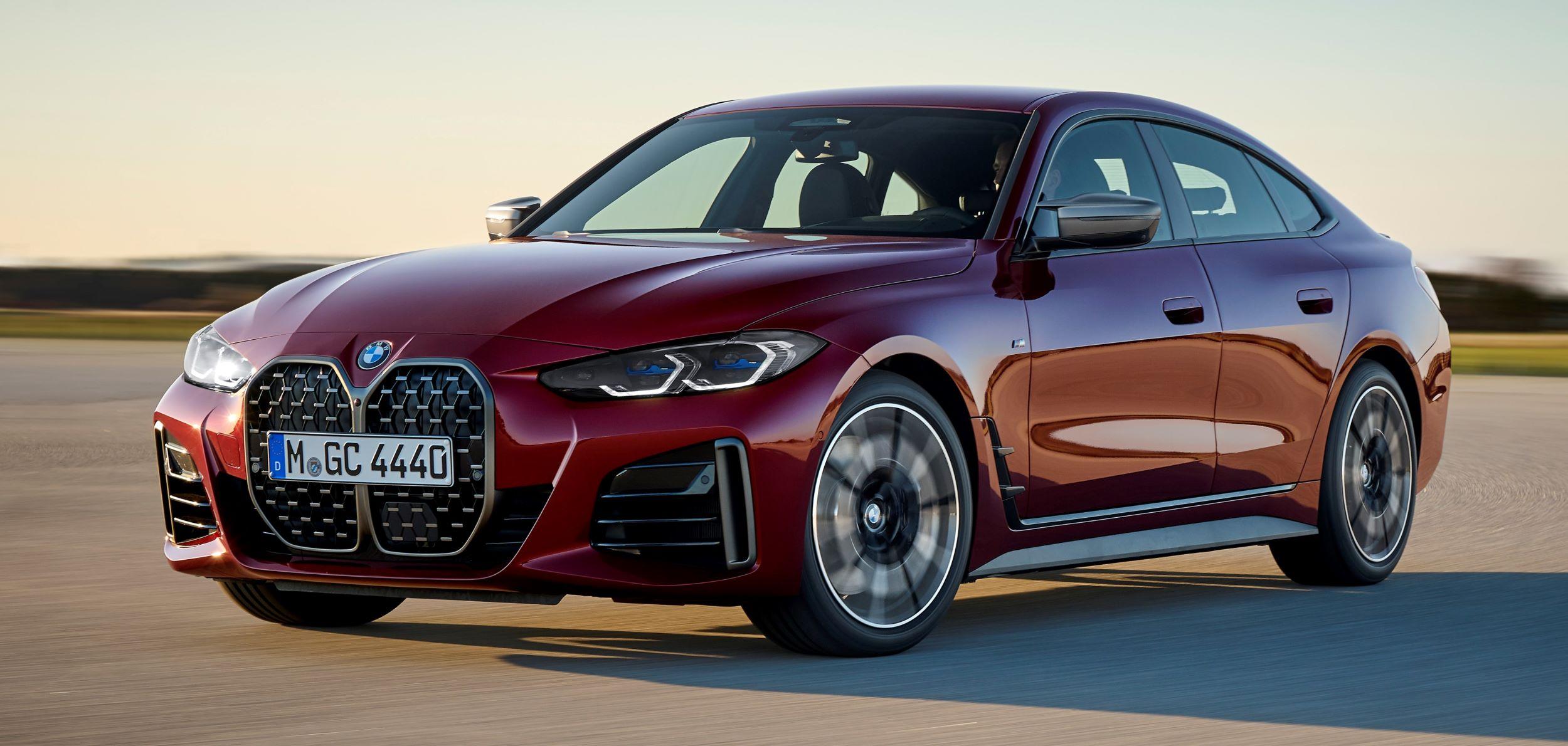 BMW 4 Gran Coupe przód