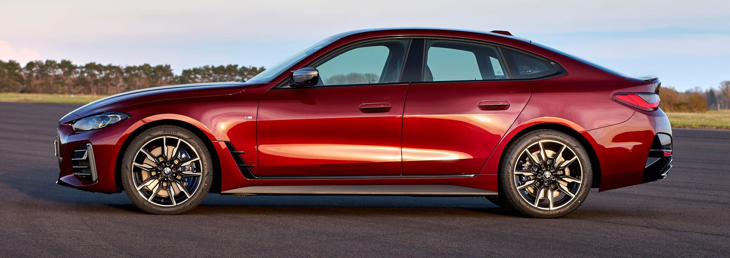 BMW 4 Gran Coupe bok