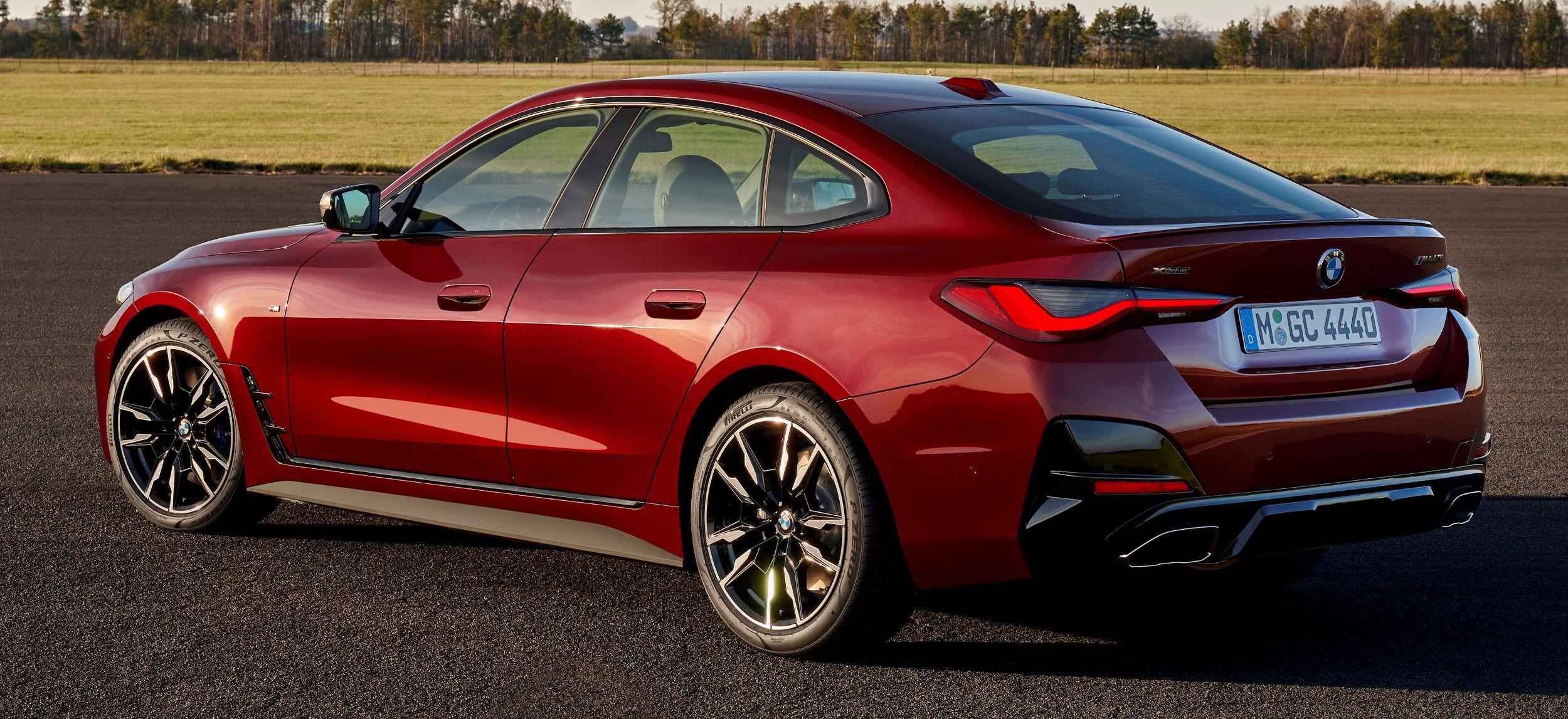 BMW 4 Gran Coupe tył