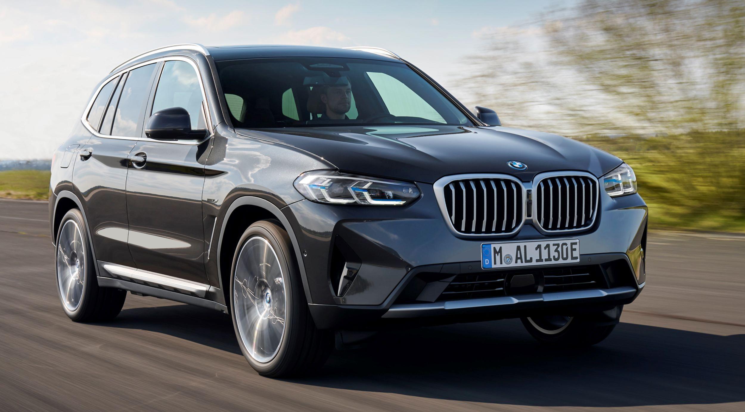 BMW X3 przód