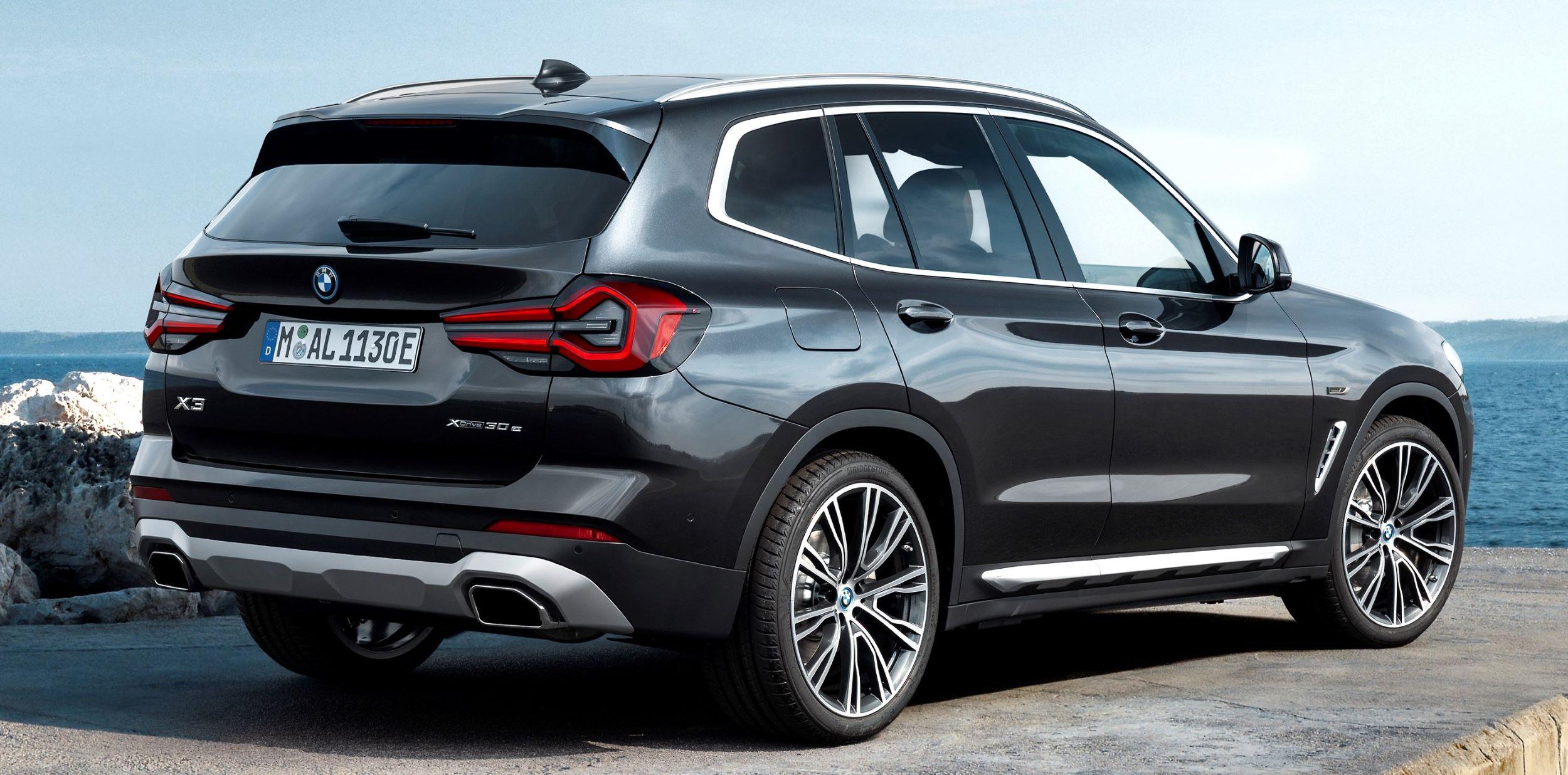 BMW X3 tył