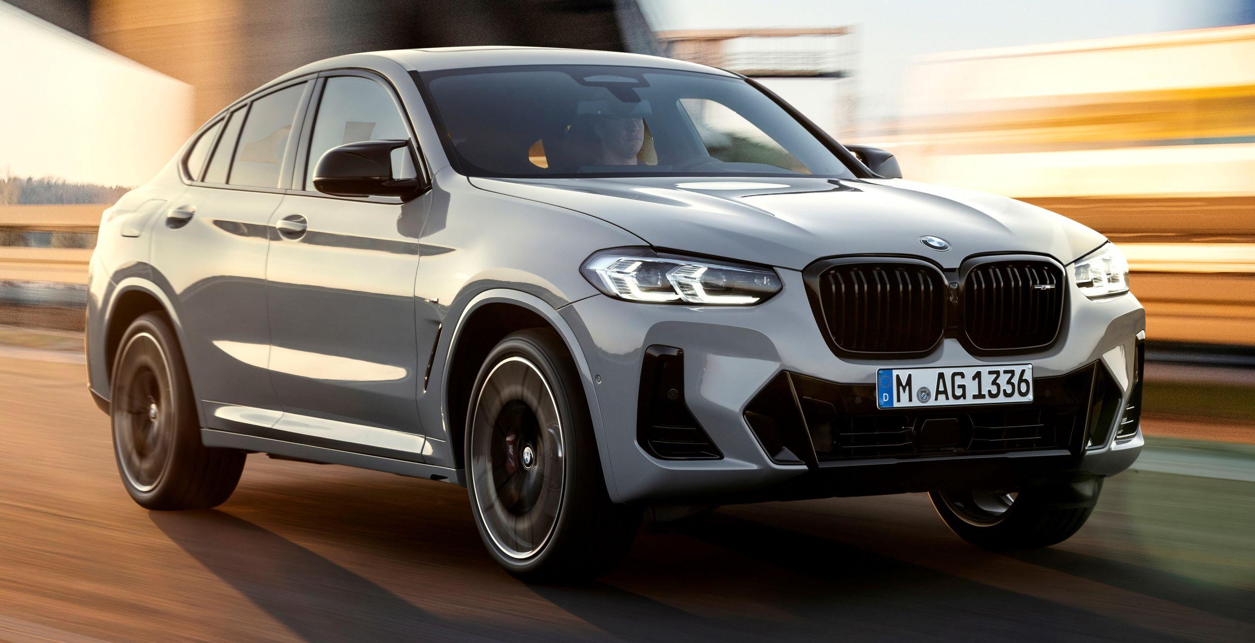 BMW X4 przód