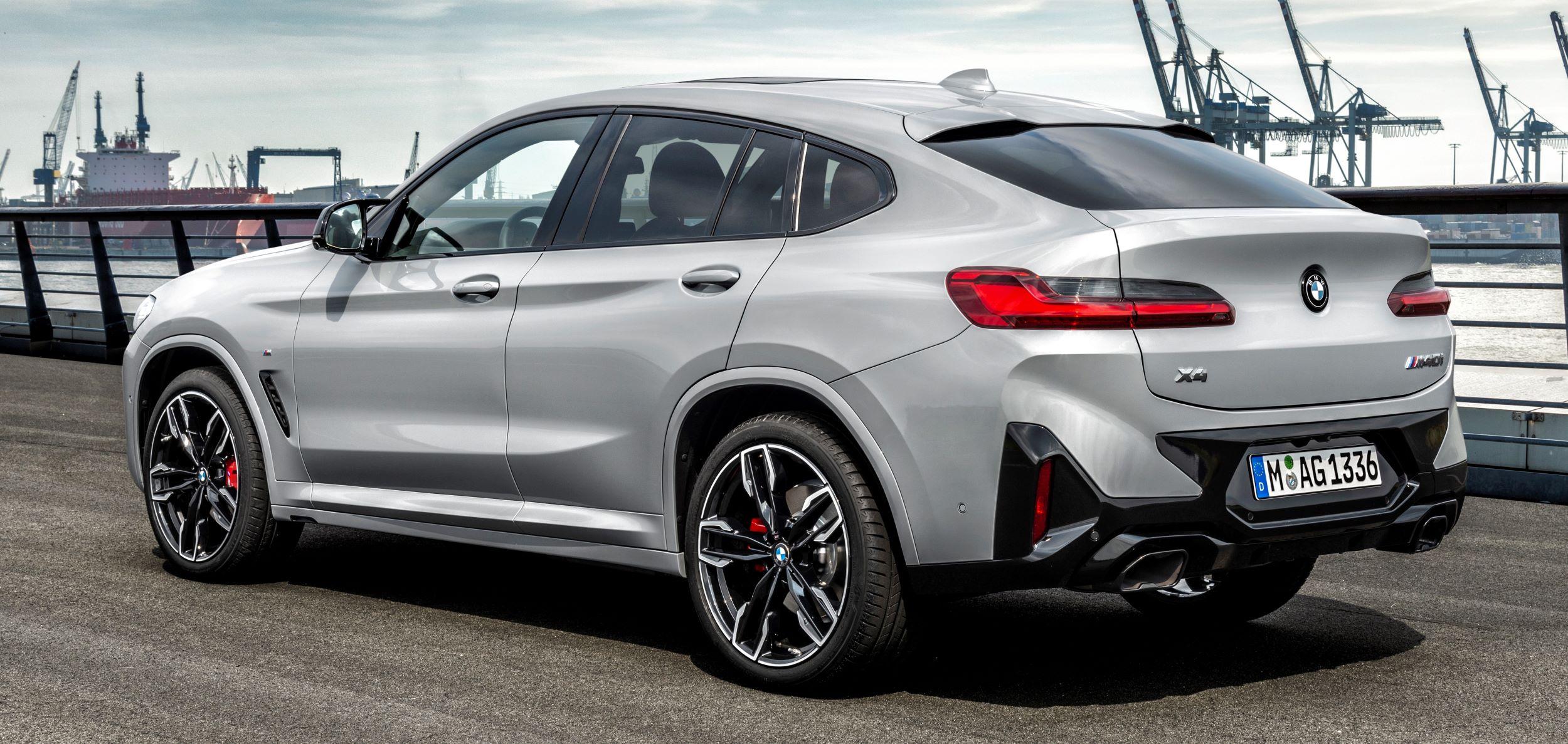 BMW X4 tył