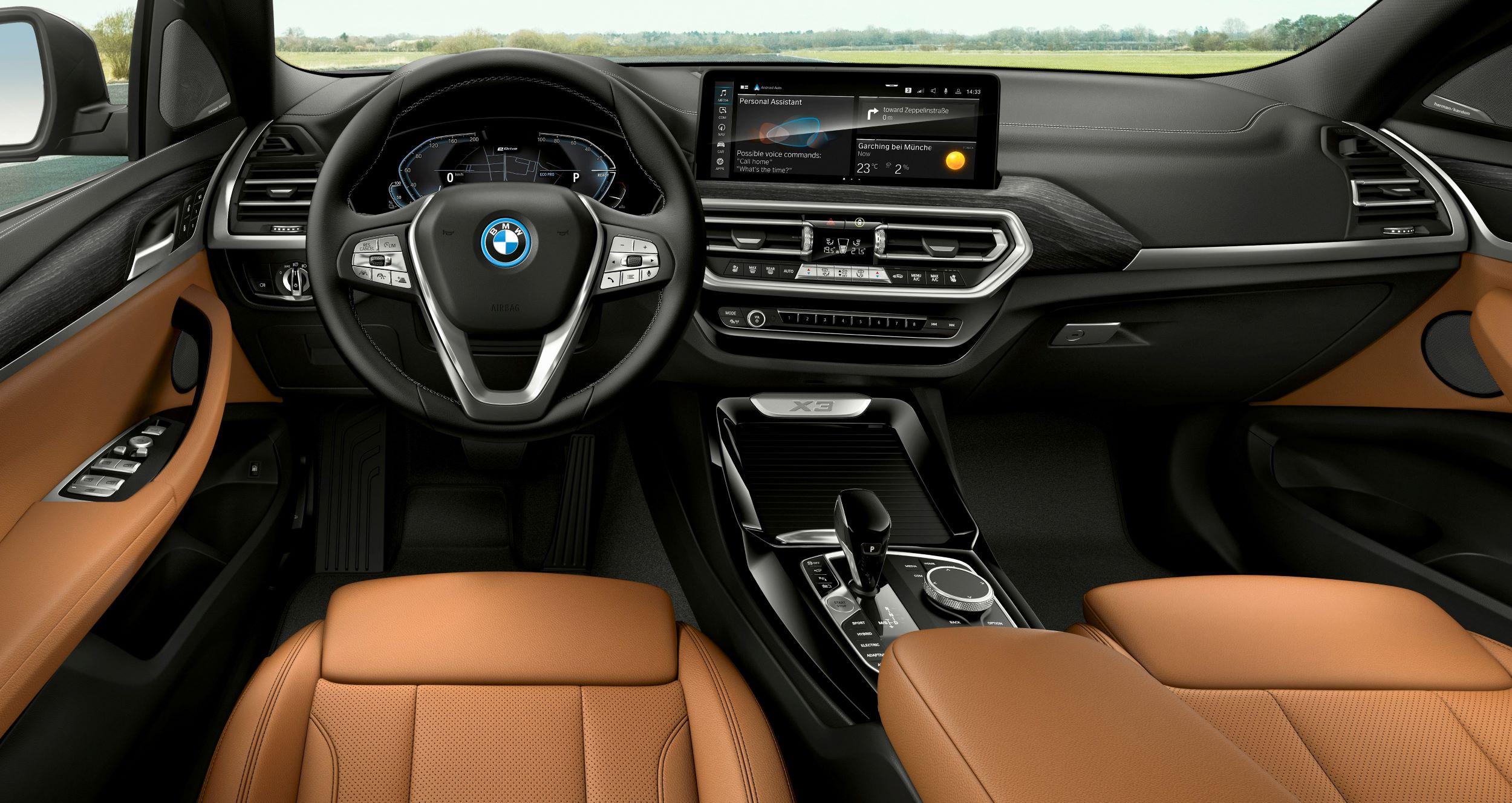 BMW X3 deska