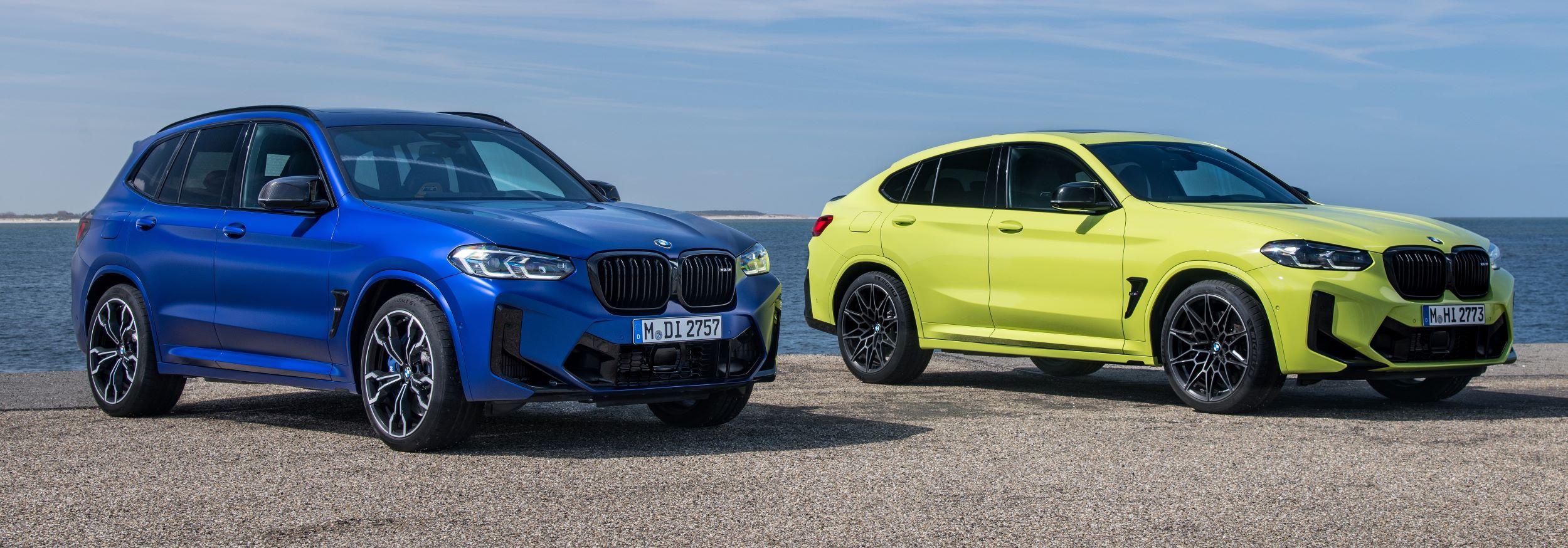 BMW X3, X4 M przód