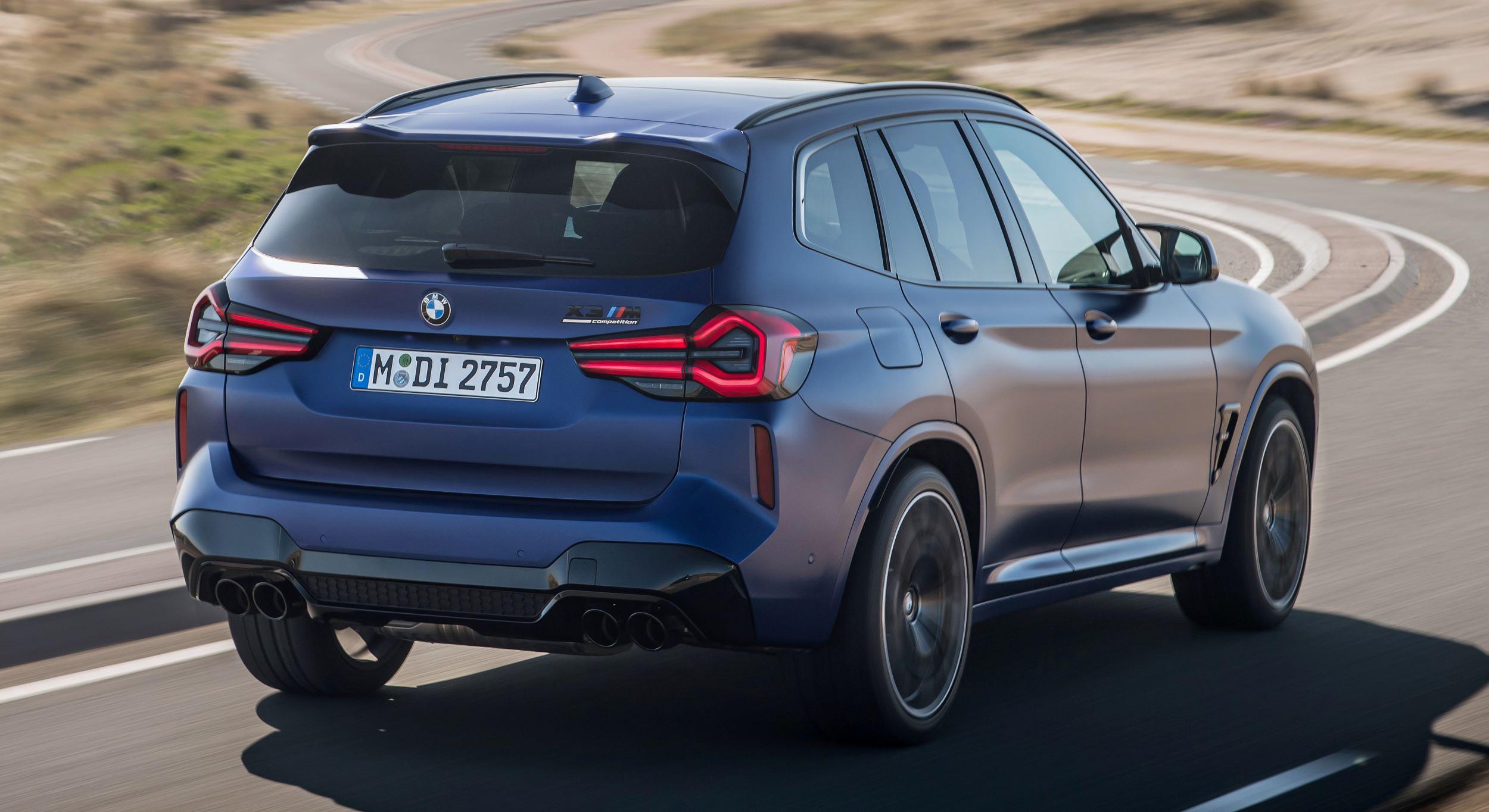 BMW X3 M tył