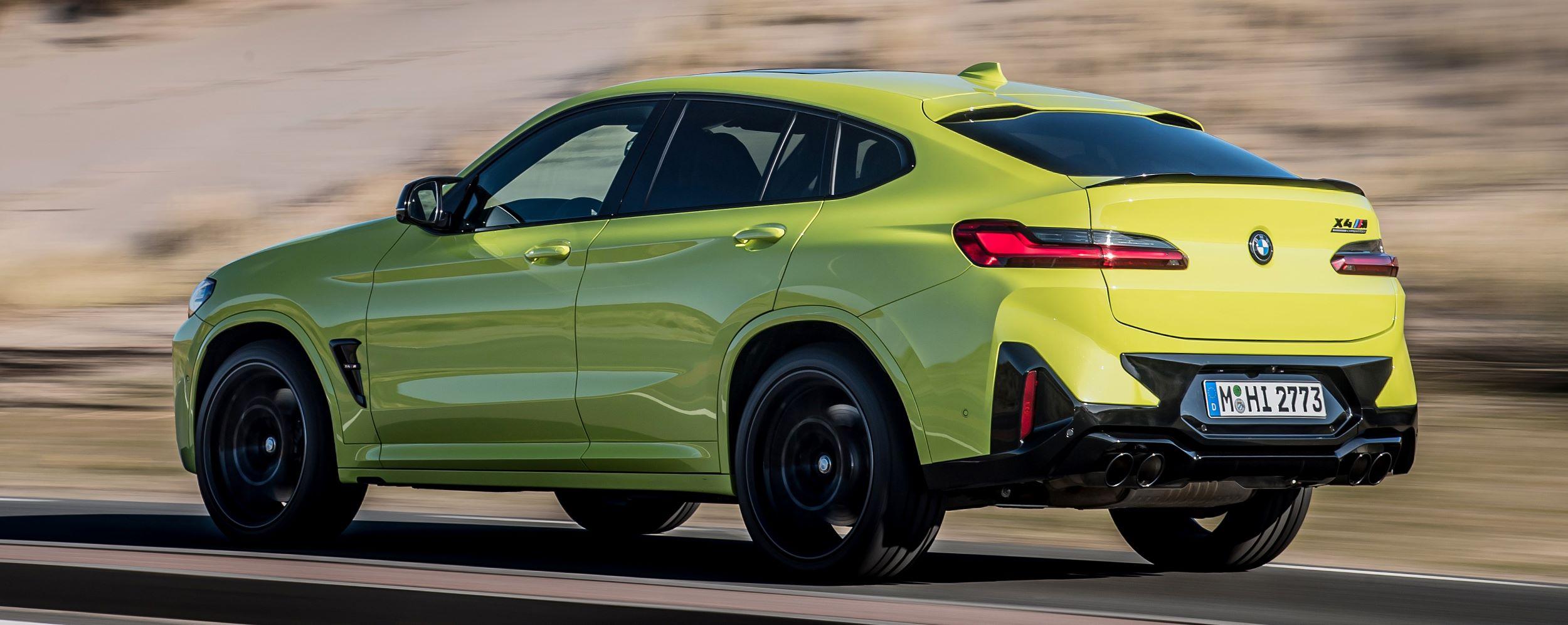 BMW X4 M ył