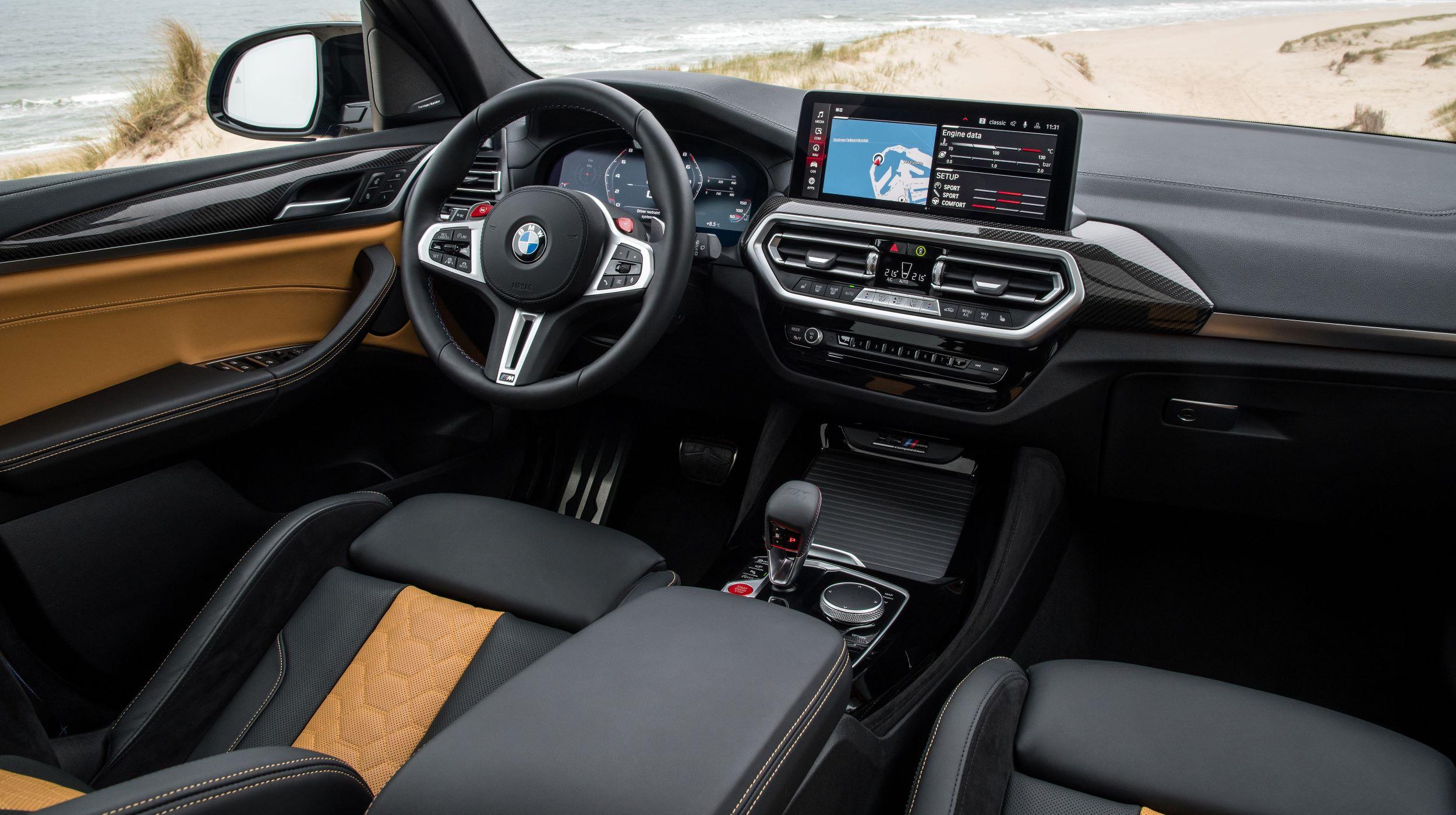 BMW X3, X4 M deska