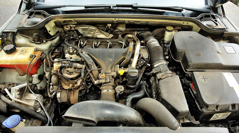 Peugeot 407 SW silnik