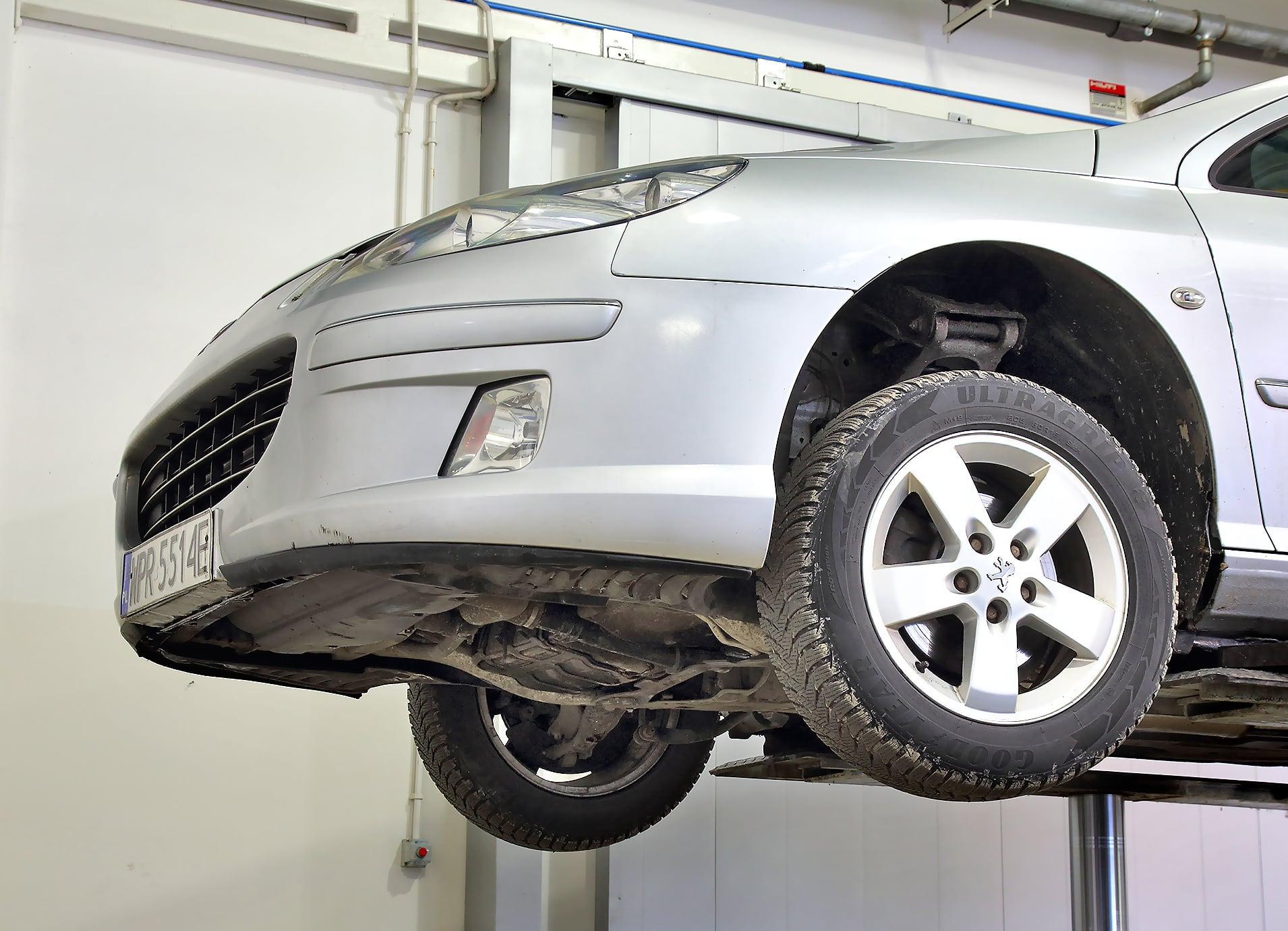 Peugeot 407 SW przód