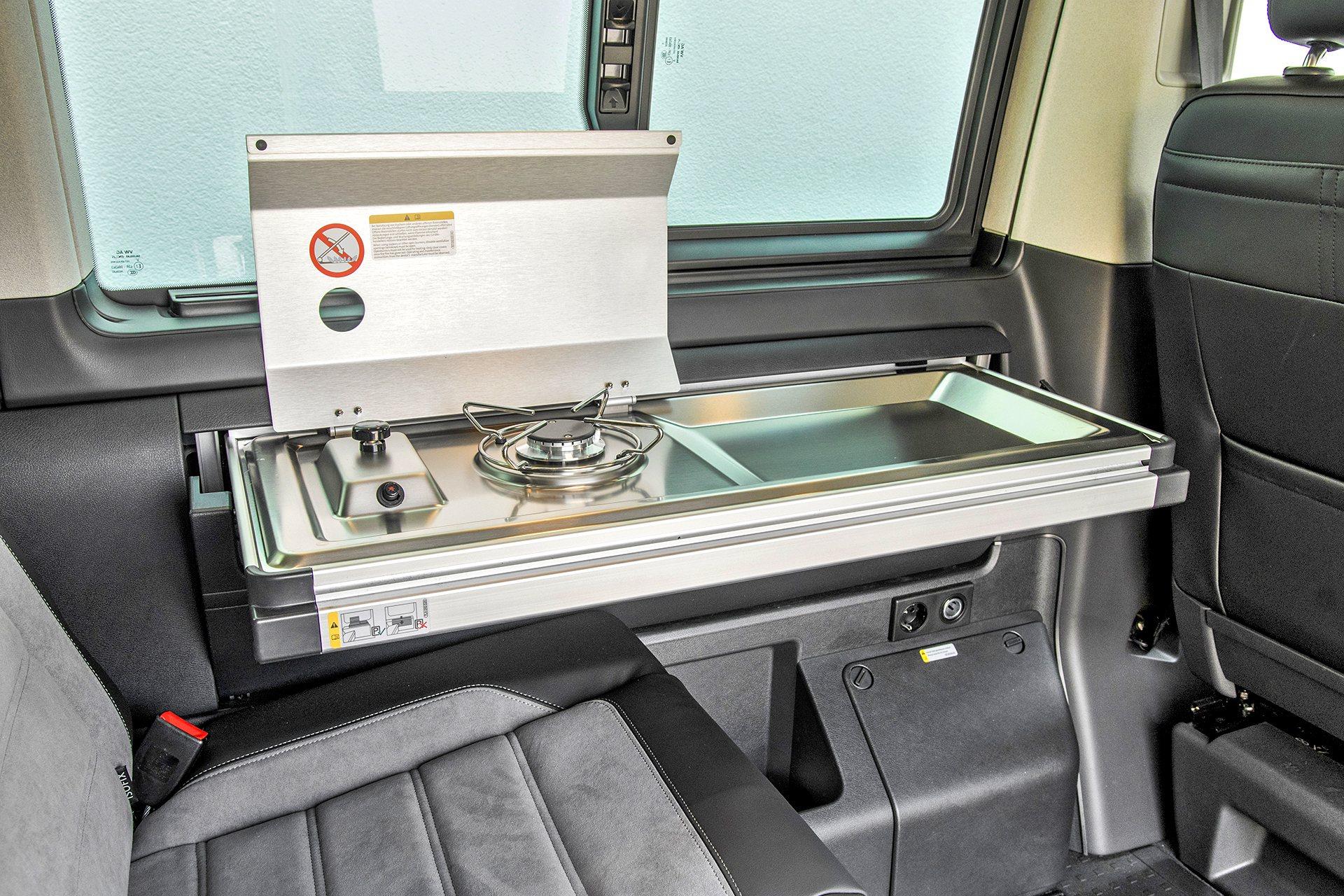 VW California 6.1 Beach Camper - kuchenka
