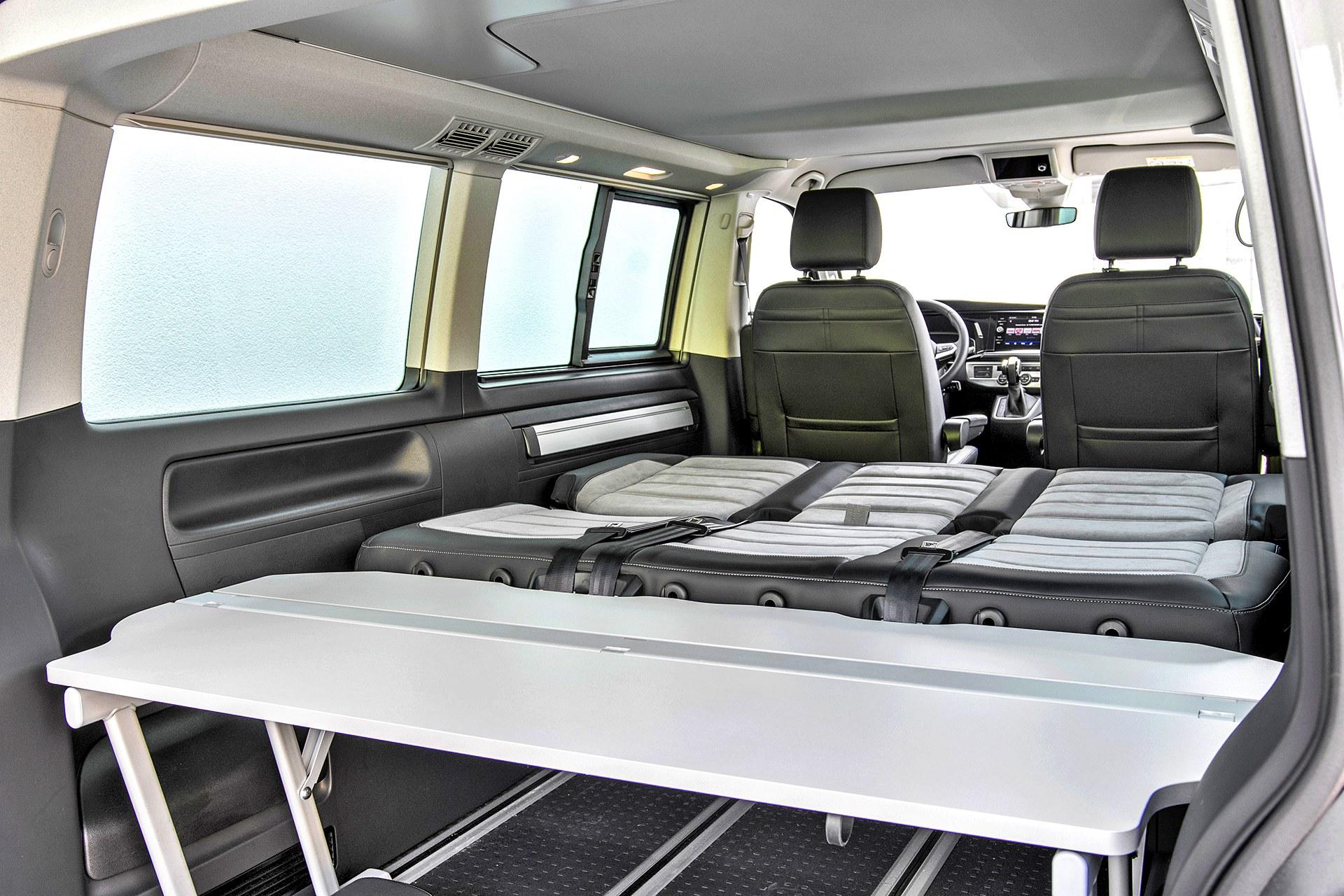 VW California 6.1 Beach Camper - wnętrze