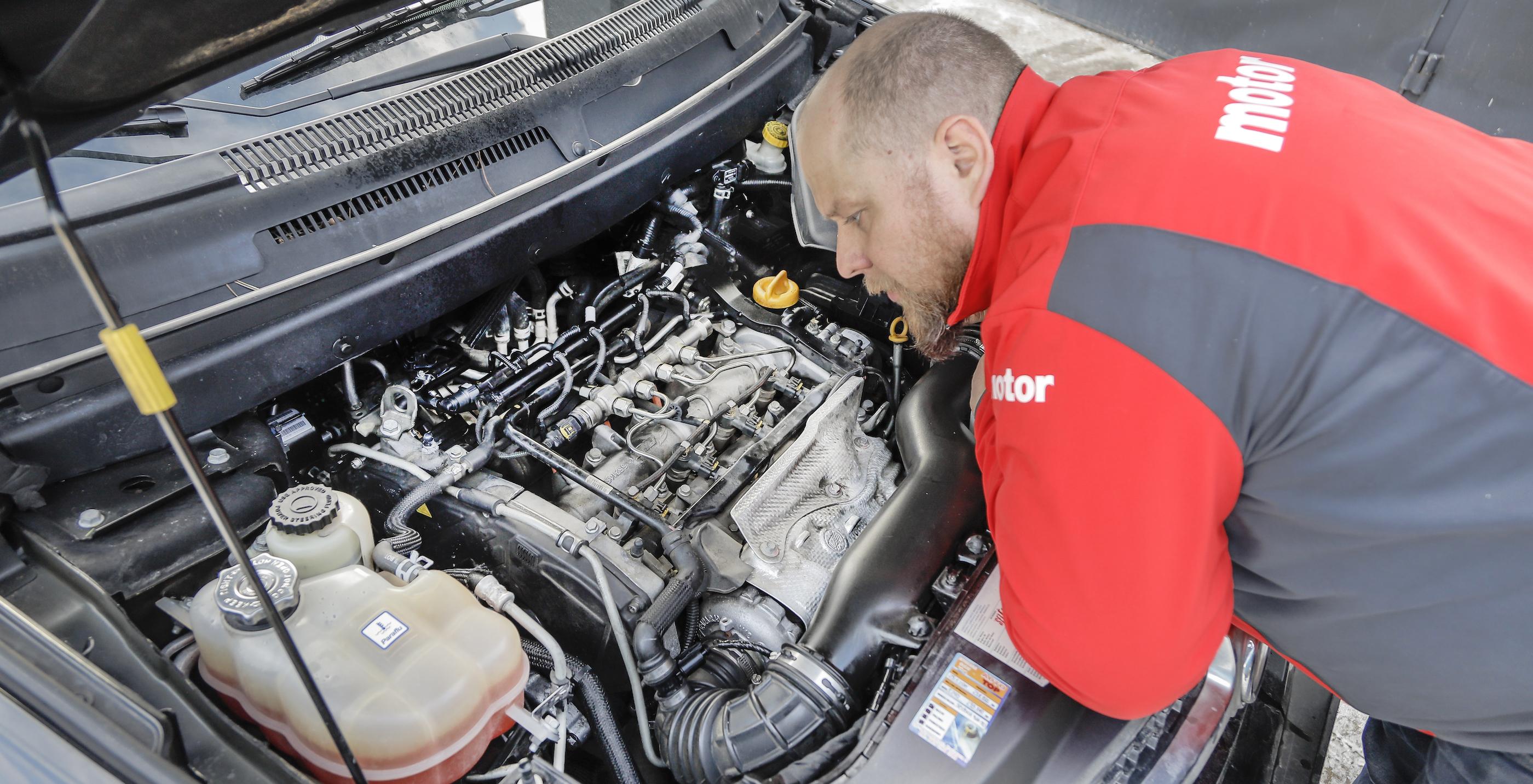 Ocena pracy silnika