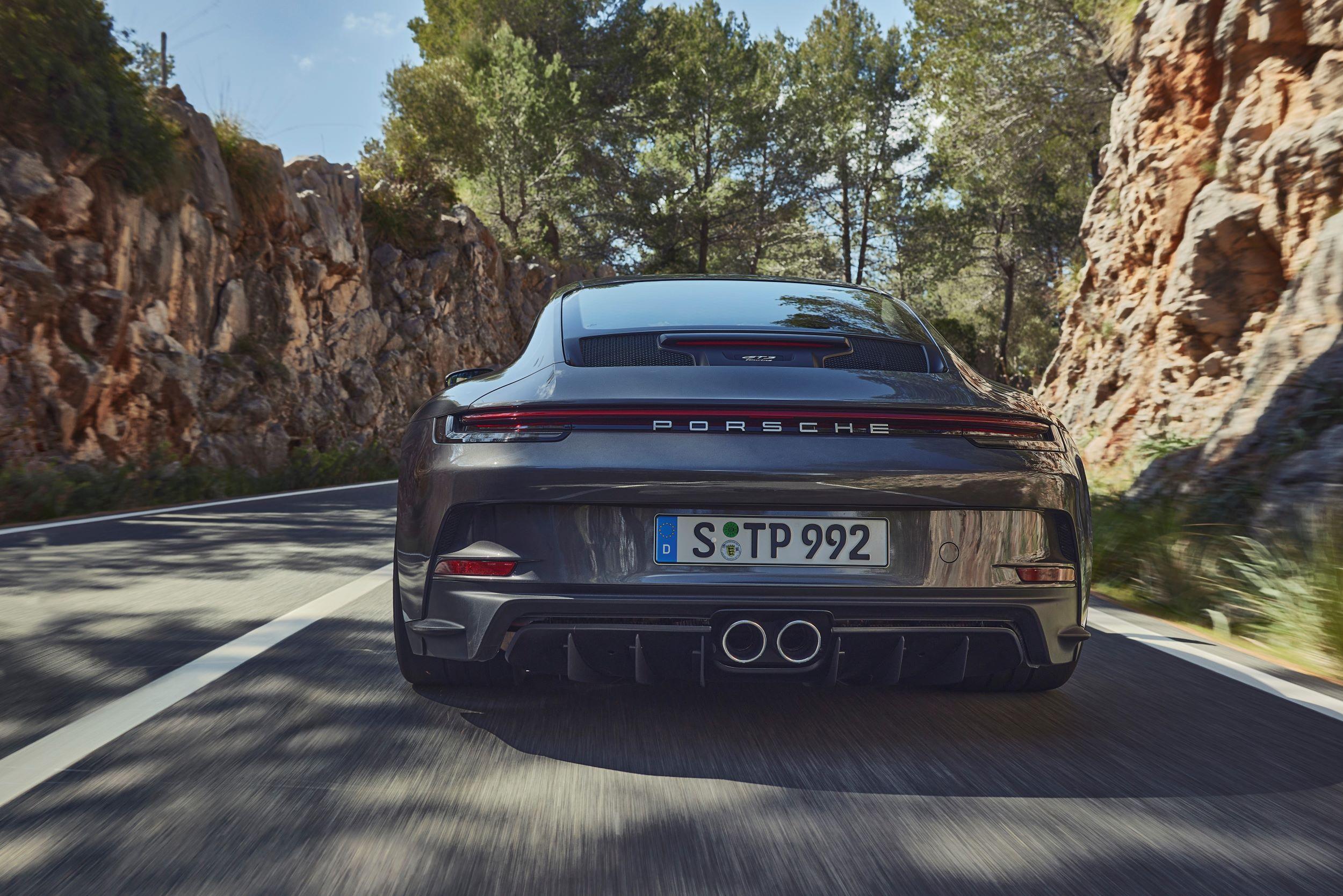 Porsche 911 GT3 Touring tył