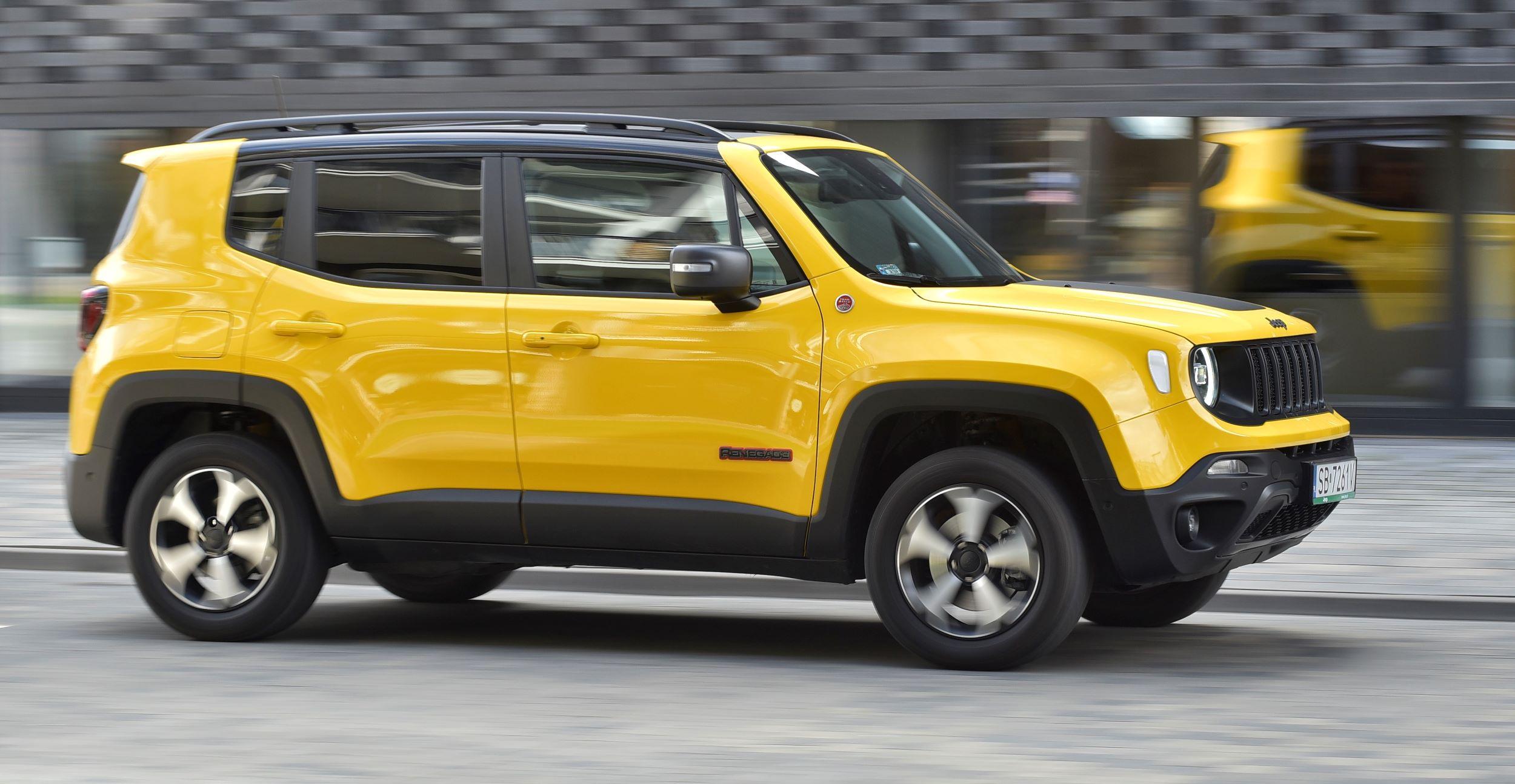 Jeep Renegade przód