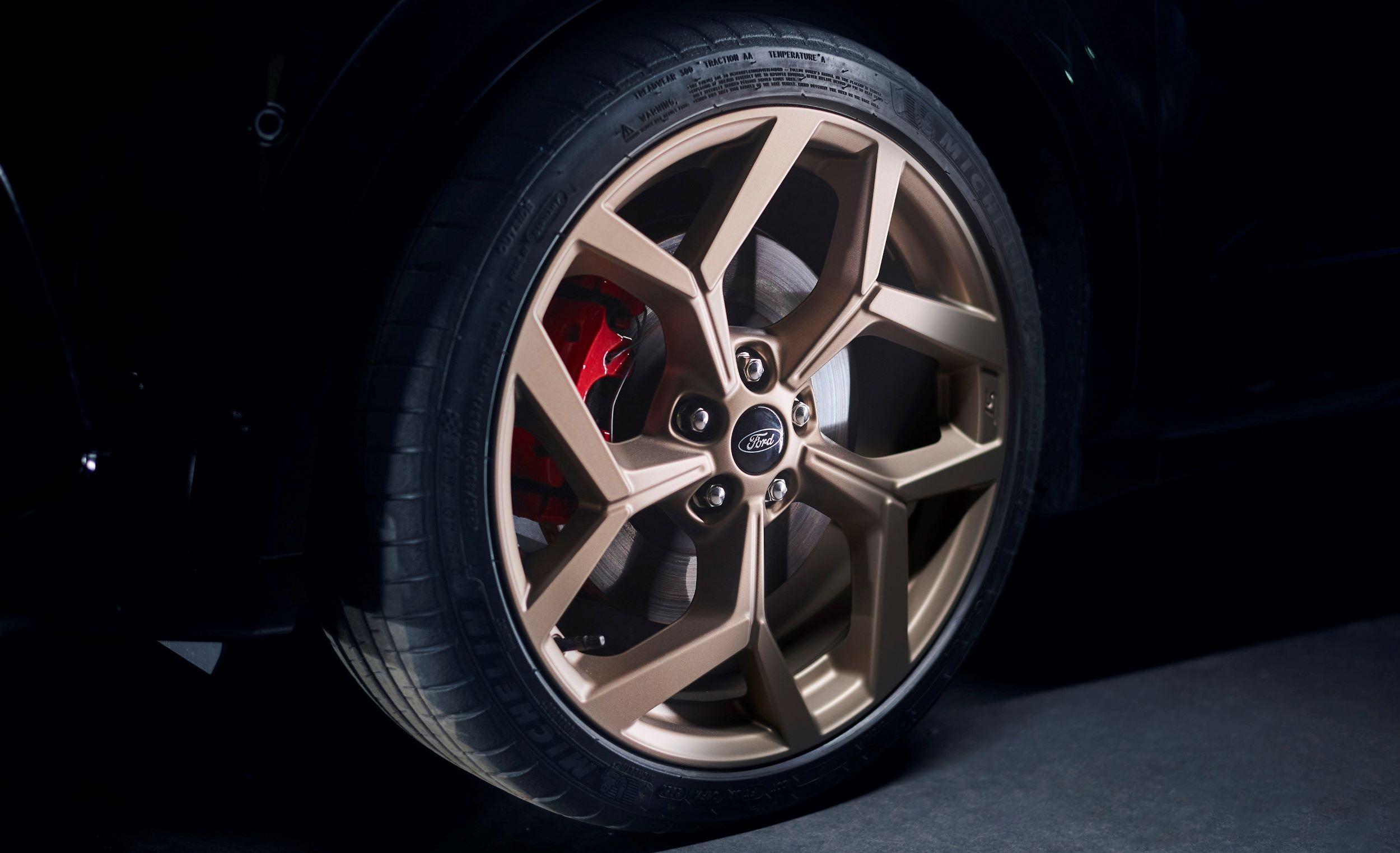 Ford Puma ST Gold Edition koło