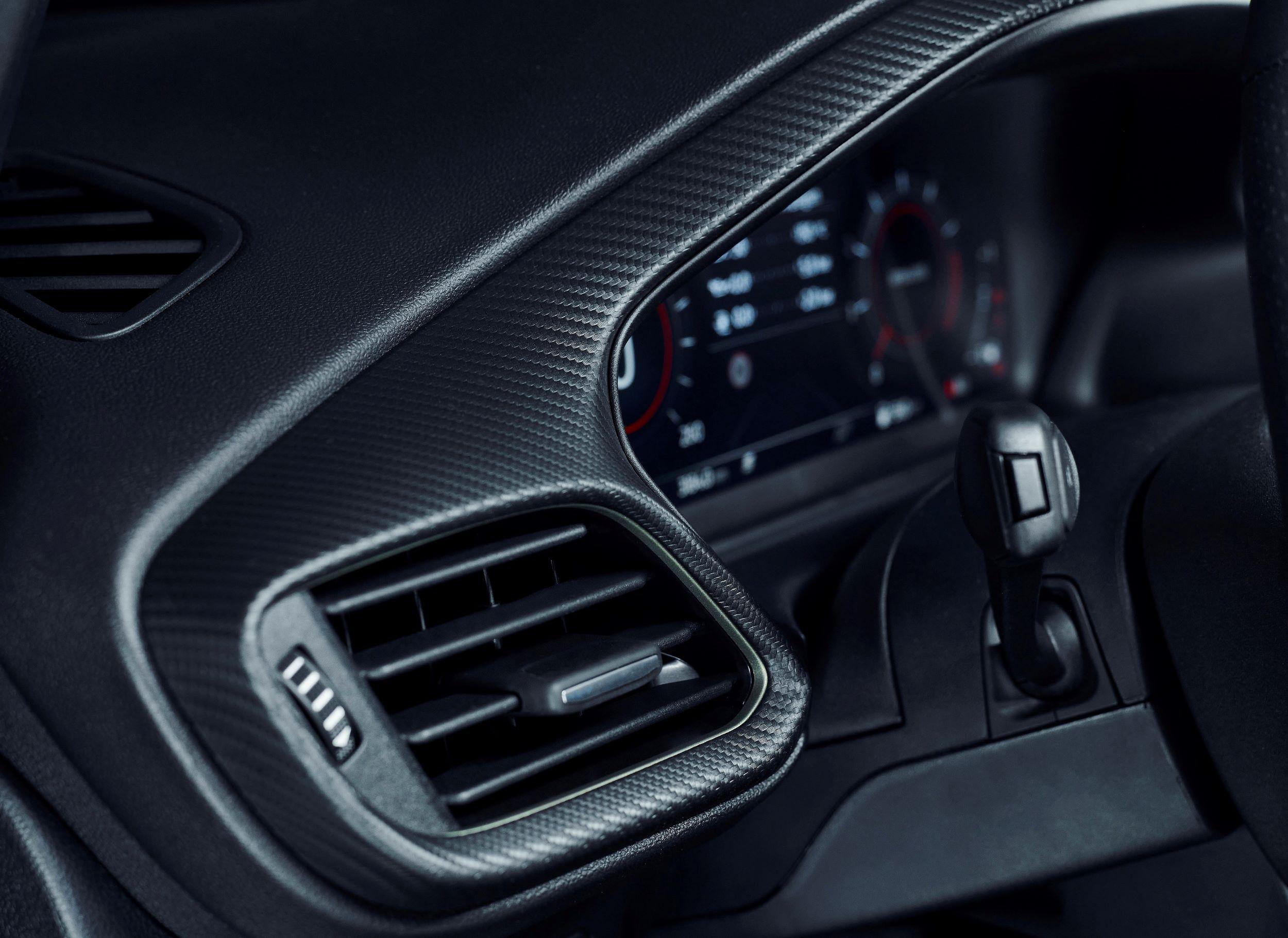Ford Puma ST Gold Edition deska