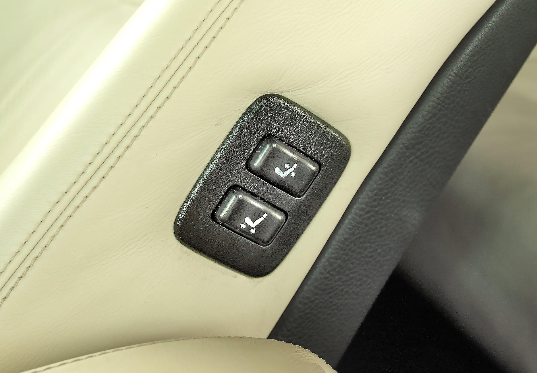 Lexus LS 430 regulacja foteli