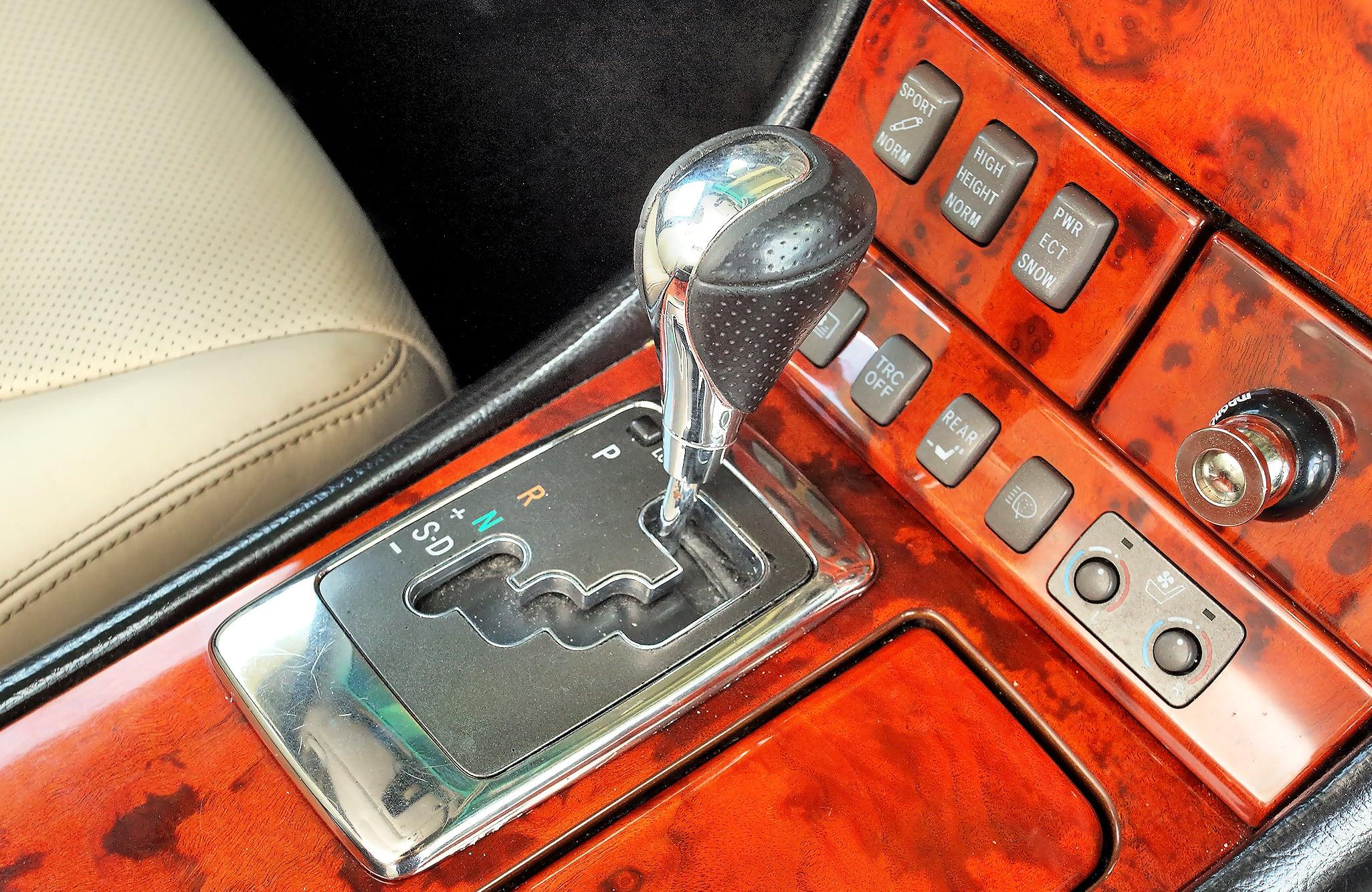 Lexus LS 430 skrzynia biegów