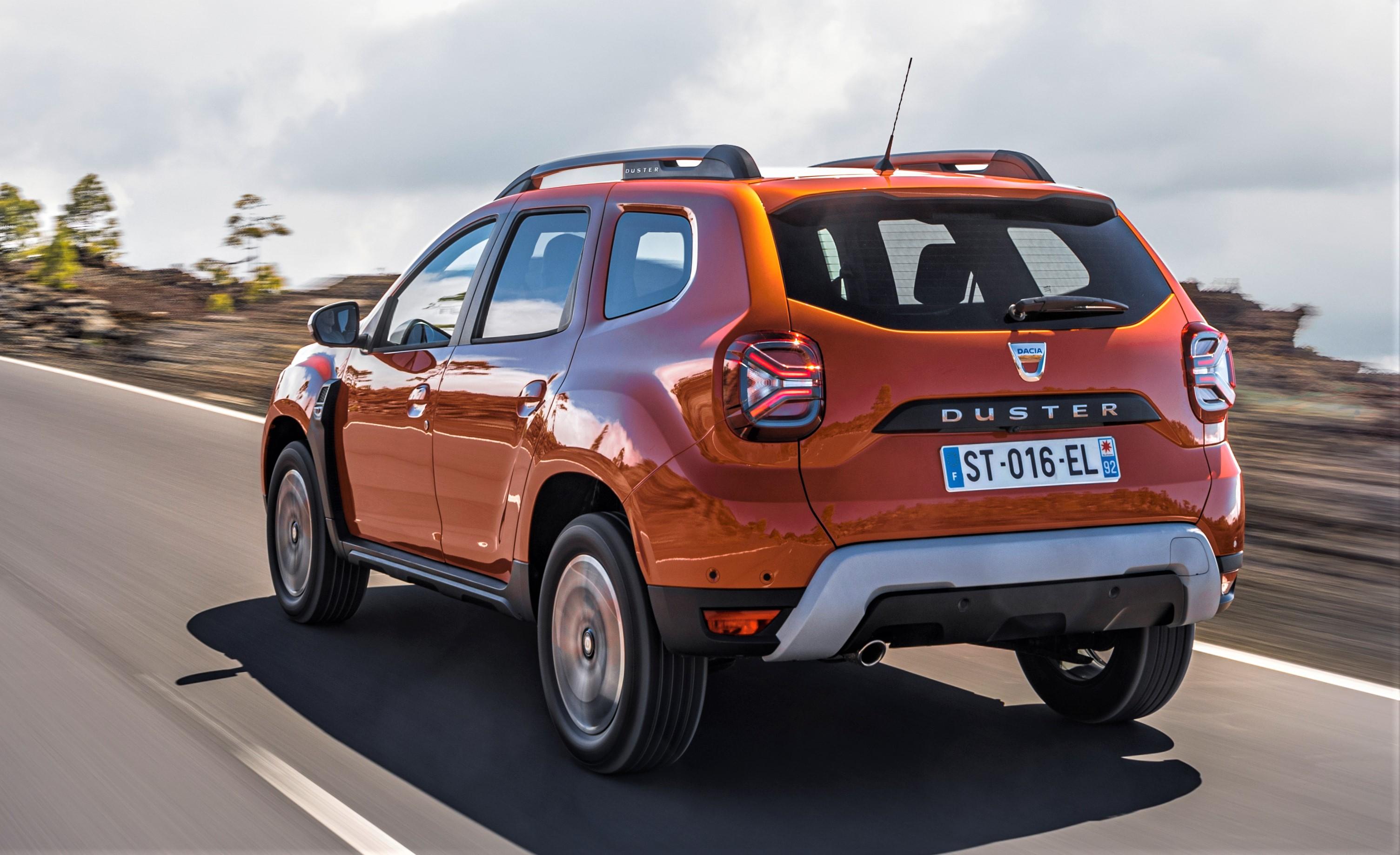 Dacia Duster tył