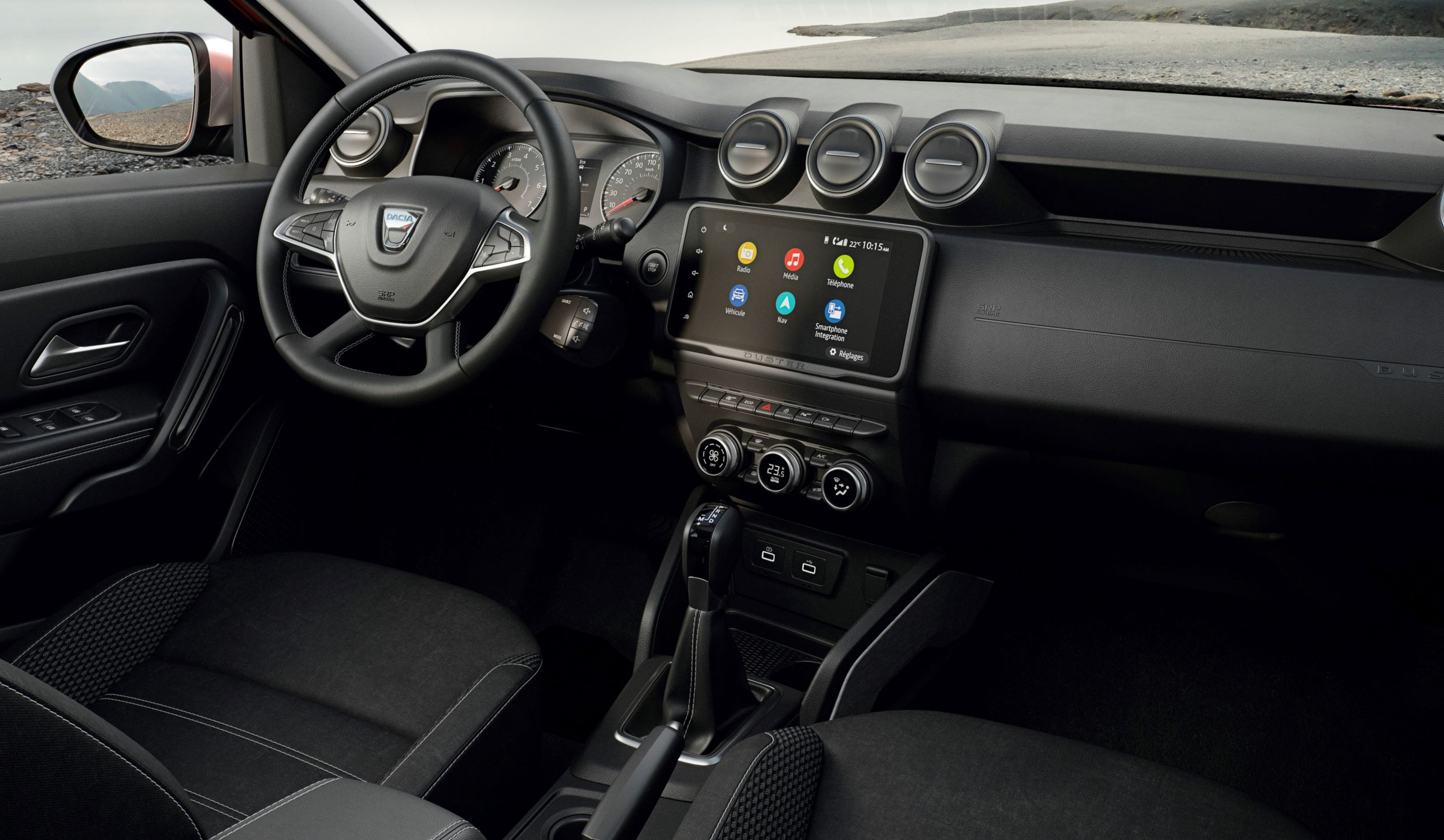 Dacia Duster deska
