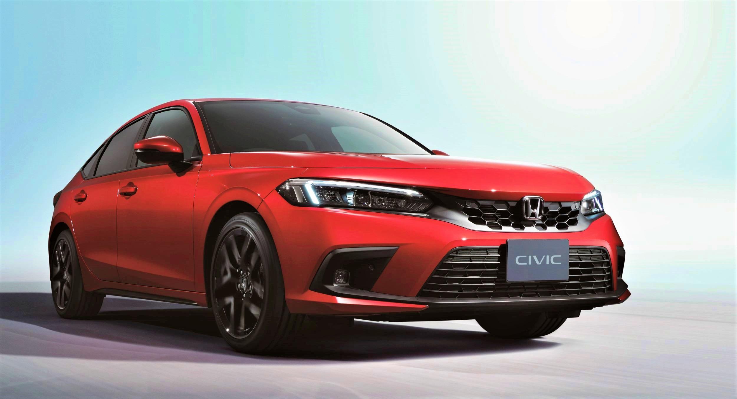 Honda Civic przód