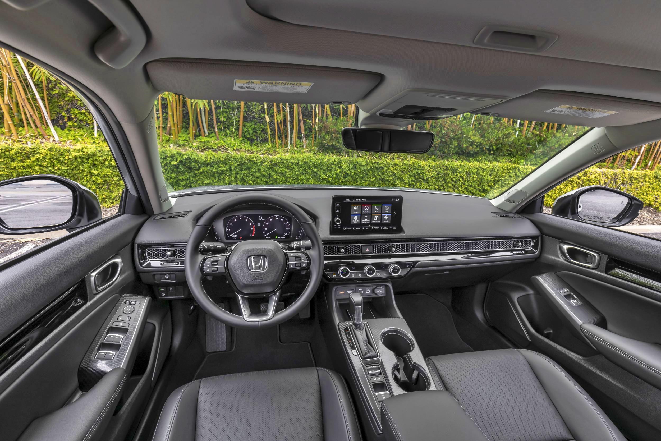 Honda Civic deska