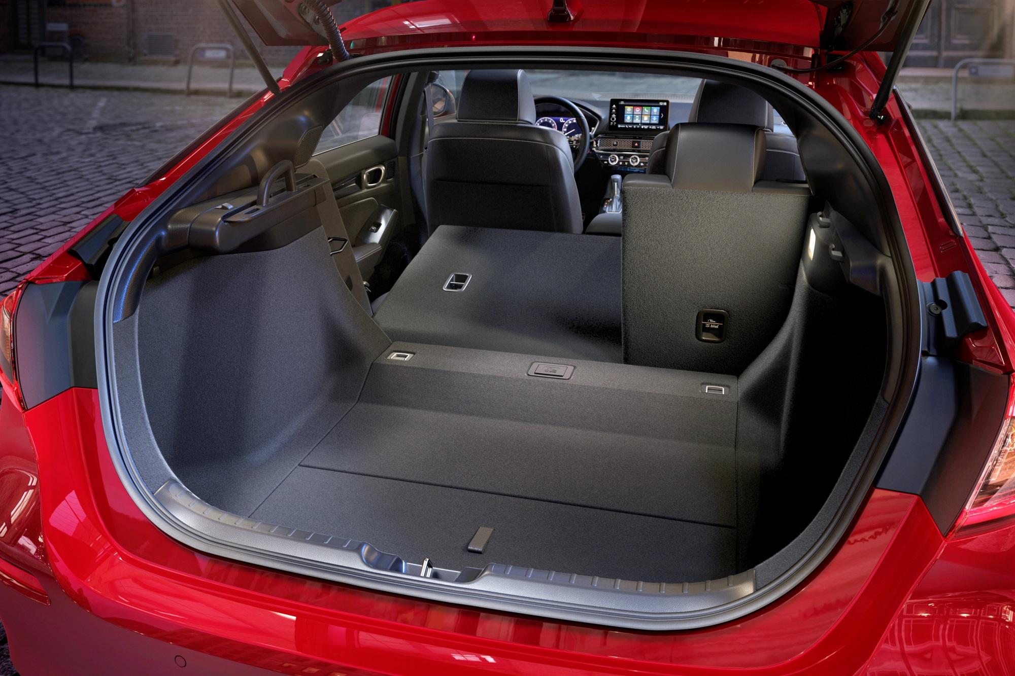 Honda Civic bagażnik