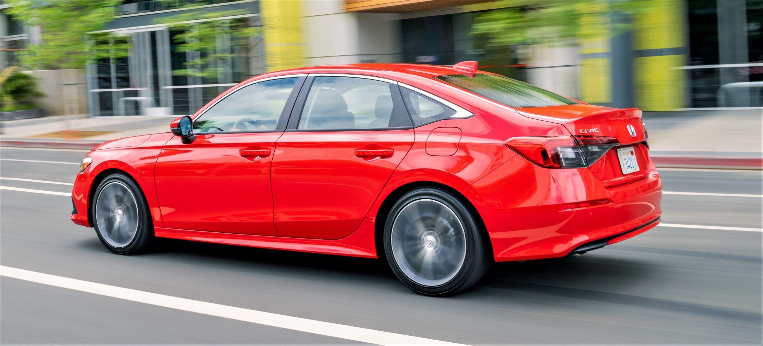 Honda Civic sedan tył