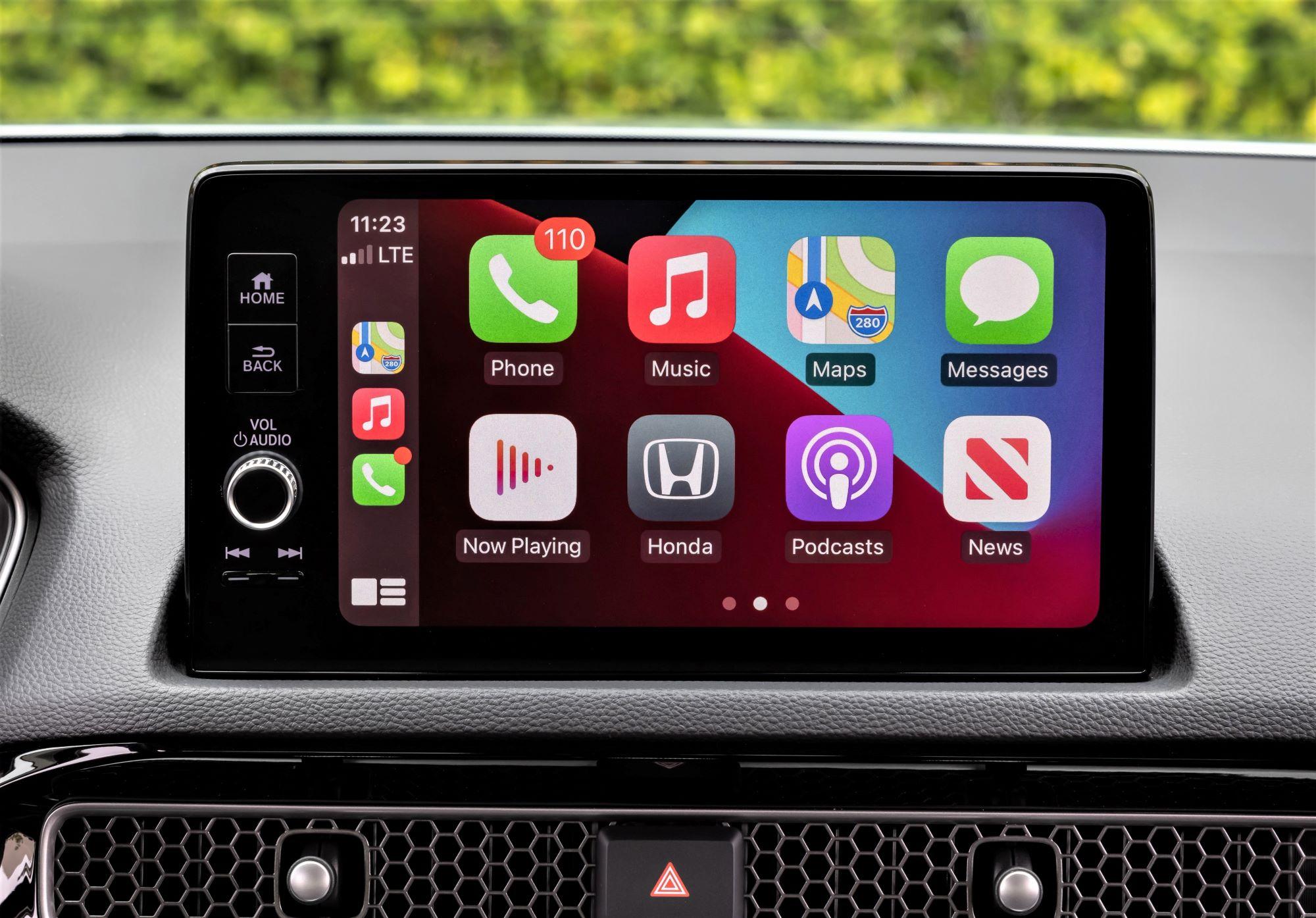 Honda Civic ekran