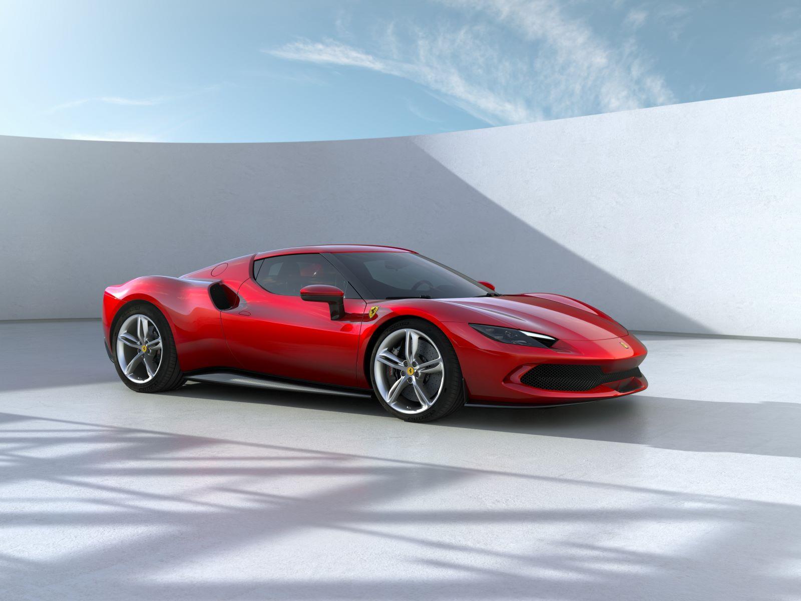 Ferrari 296 GTB – przód