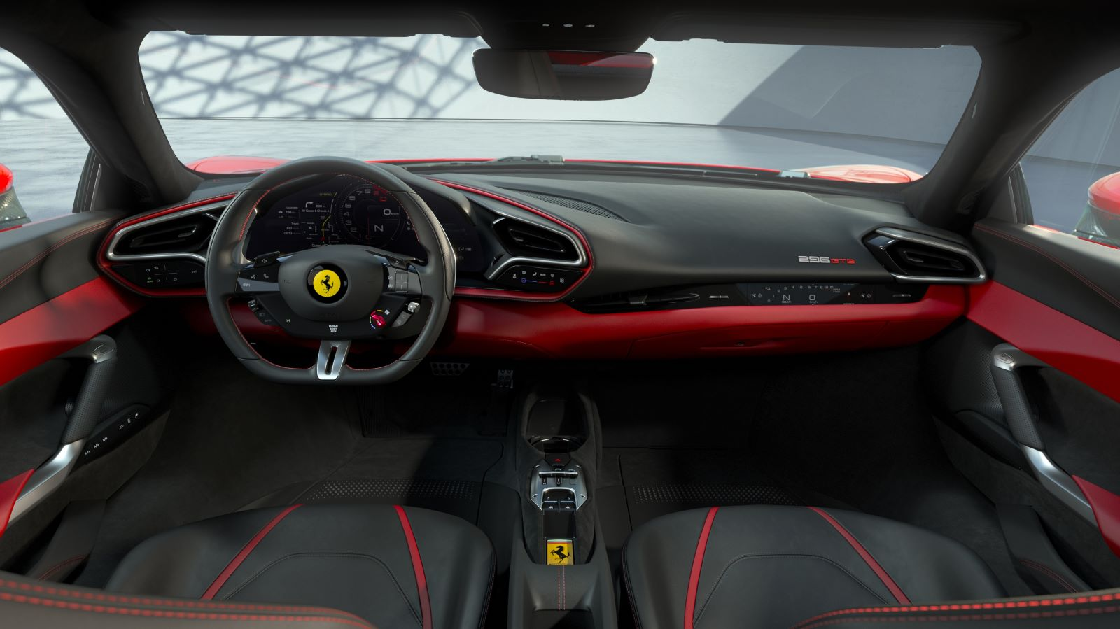 Ferrari 296 GTB – wnętrze