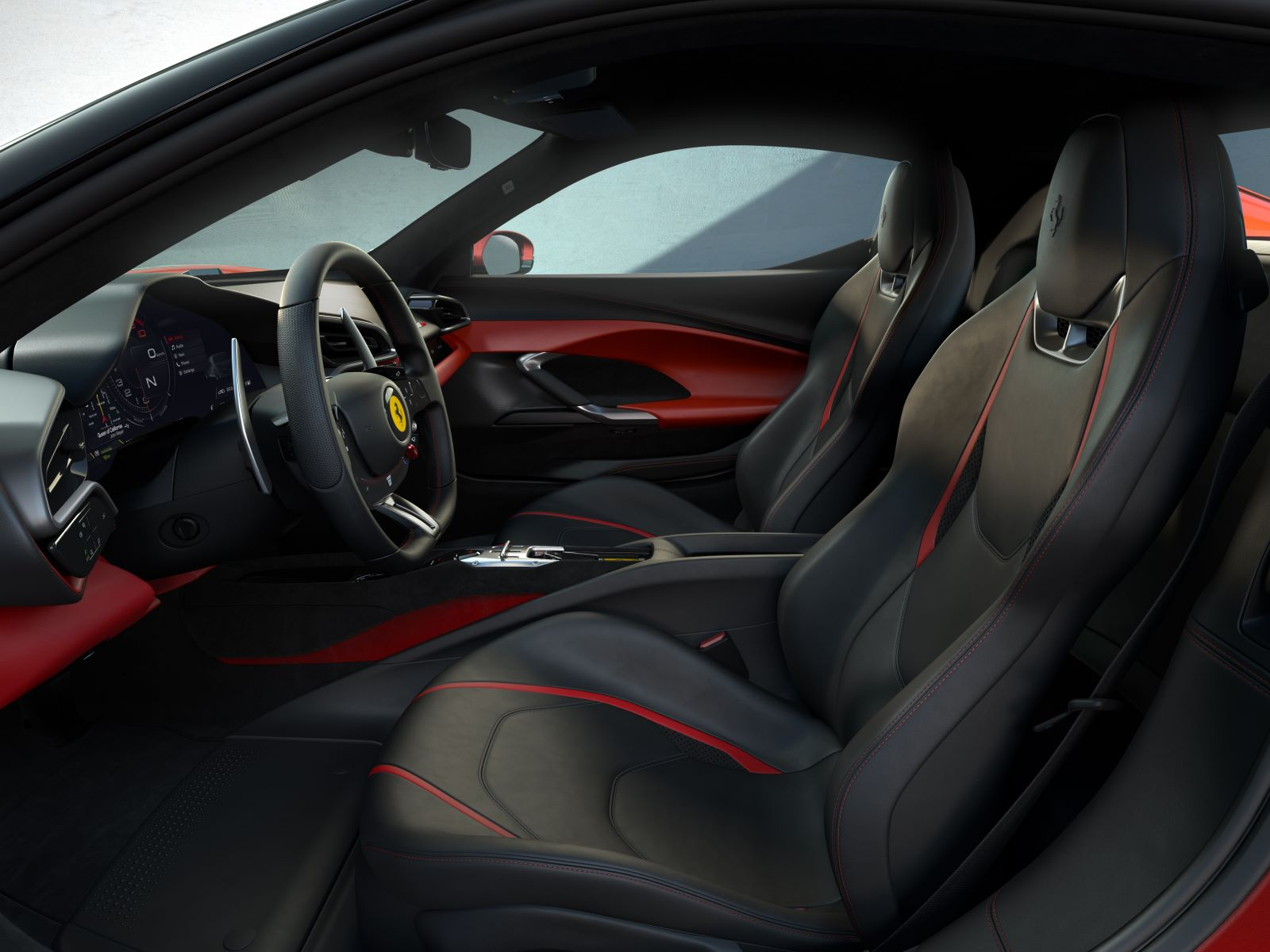Ferrari 296 GTB – fotele