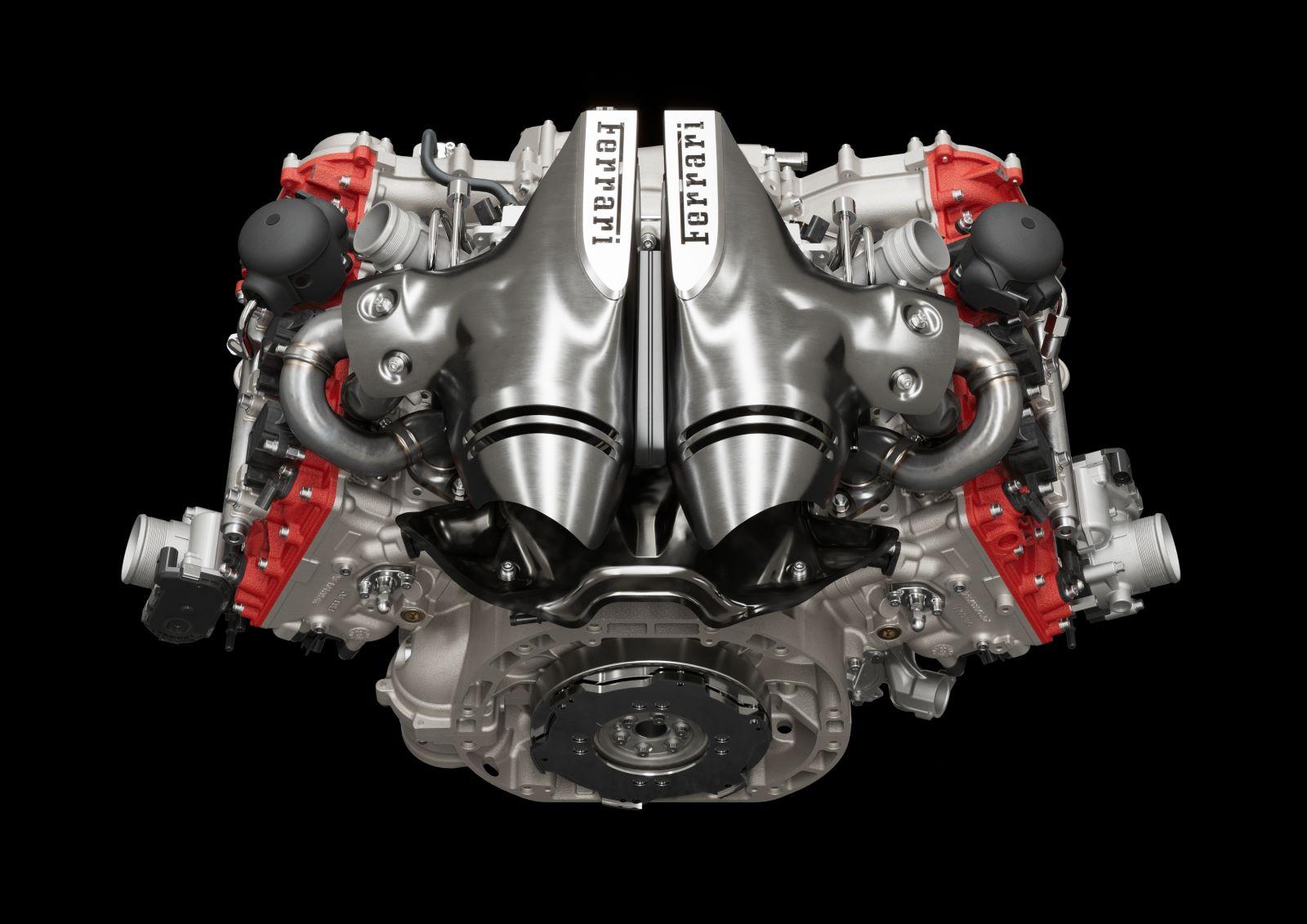 Ferrari 296 GTB – silnik