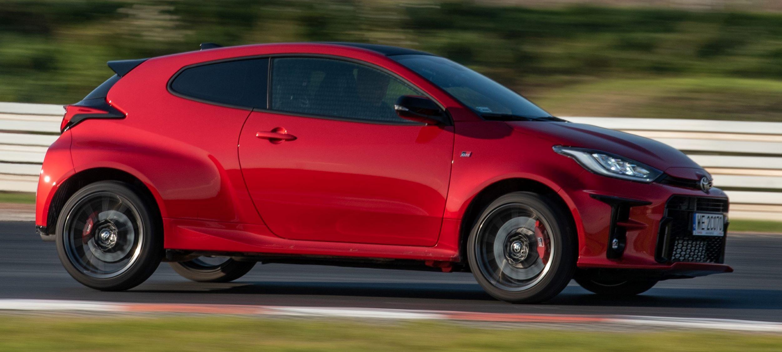 Toyota GR Yaris przód ruch