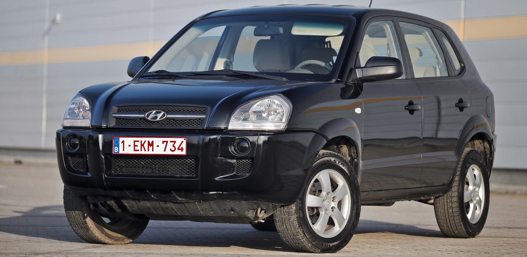 Hyundai Tucson I(2004-2010)
