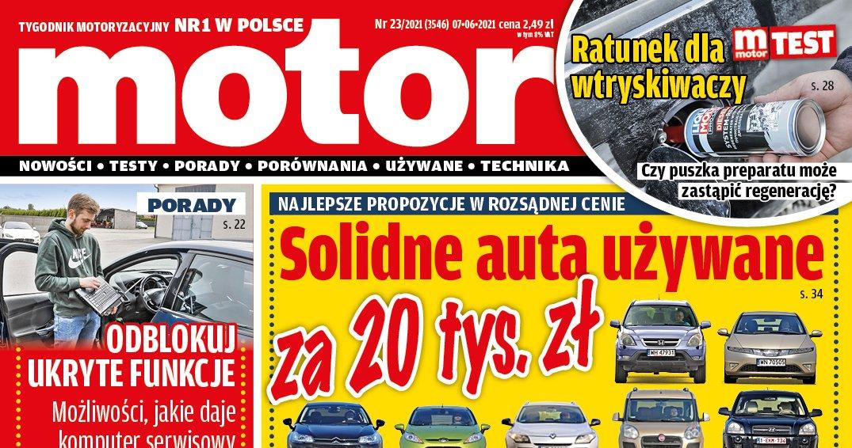 Motor 23/2021 okładka